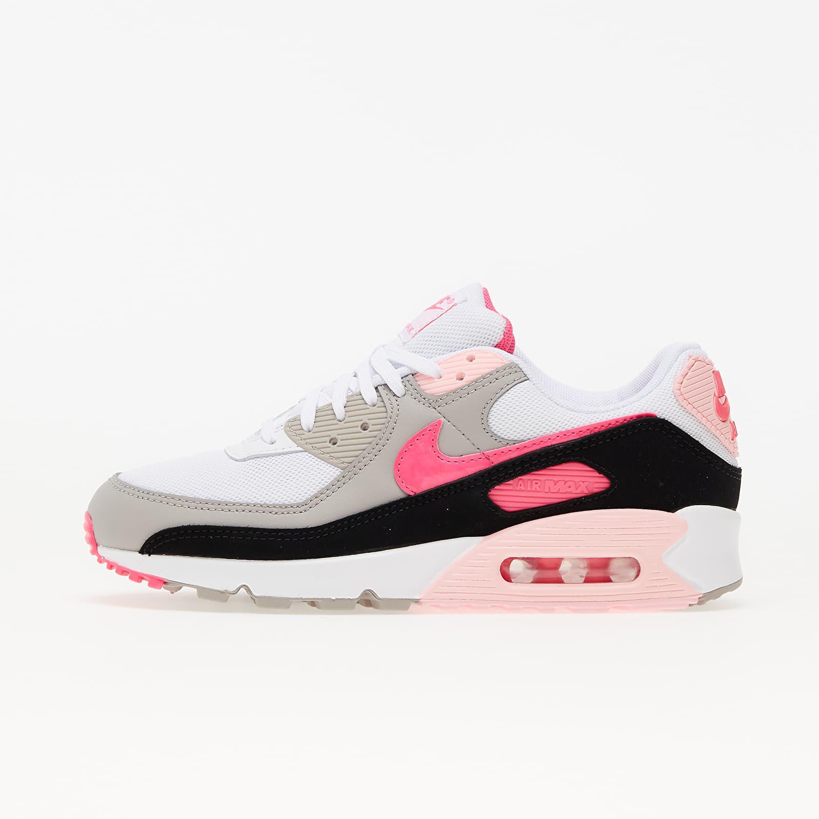 Nike W Air Max 90 White/ Hyper Pink-Black-College Grey EUR 37.5
