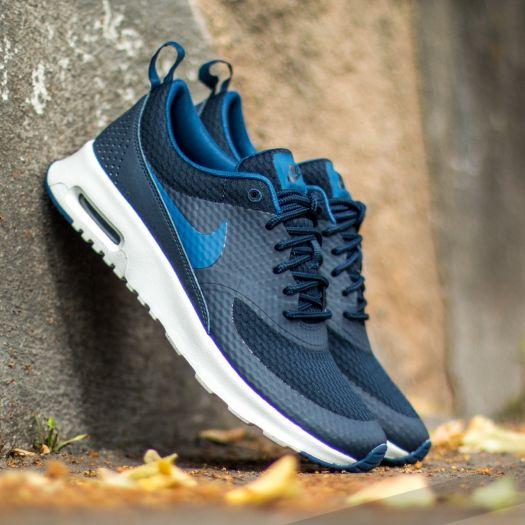 2019 2018 Nike Air Max Thea Txt Blue GreyOcean Fog white