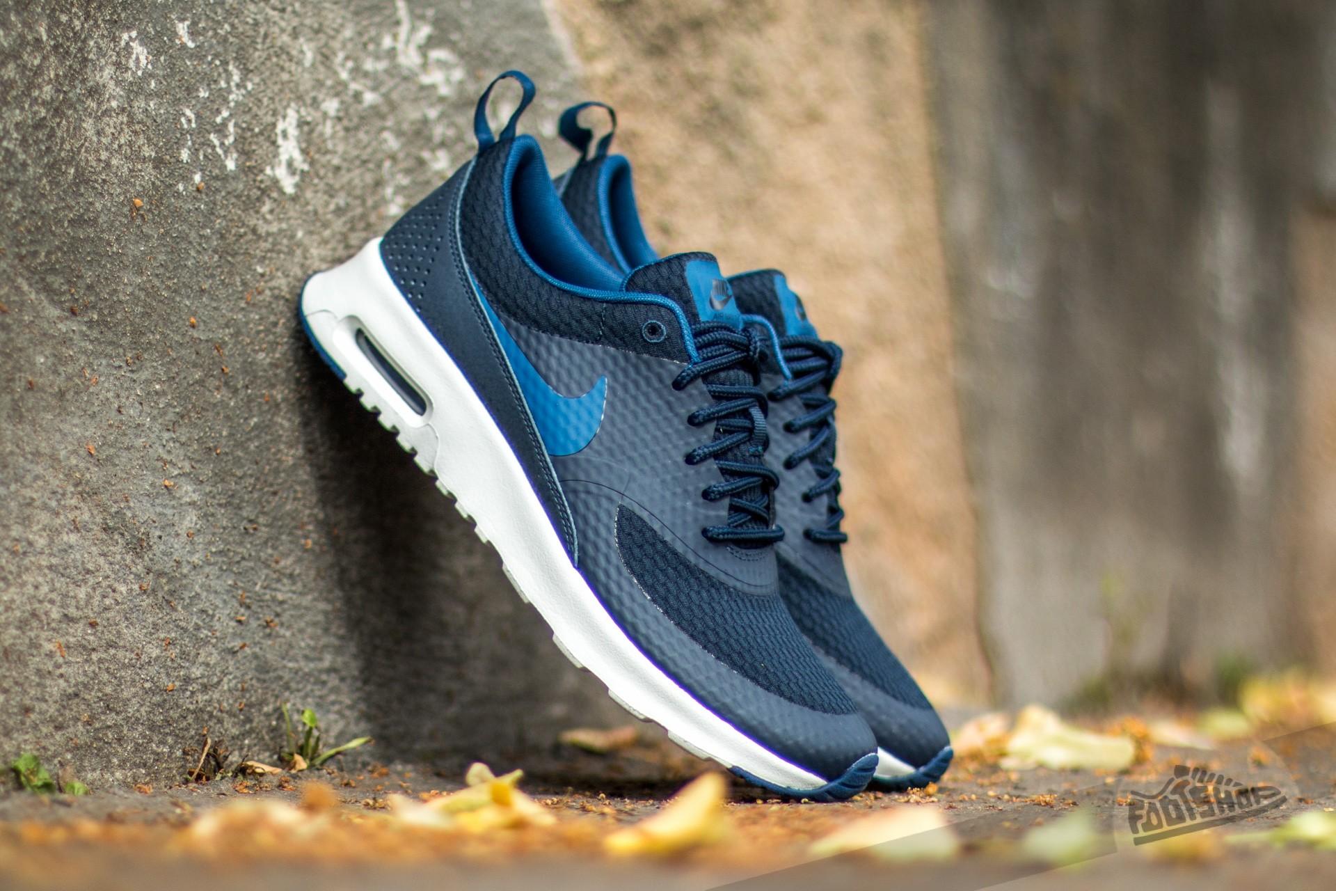 Nike W Air Max Thea TXT Obsidian Coastal Blue Summit White | Footshop