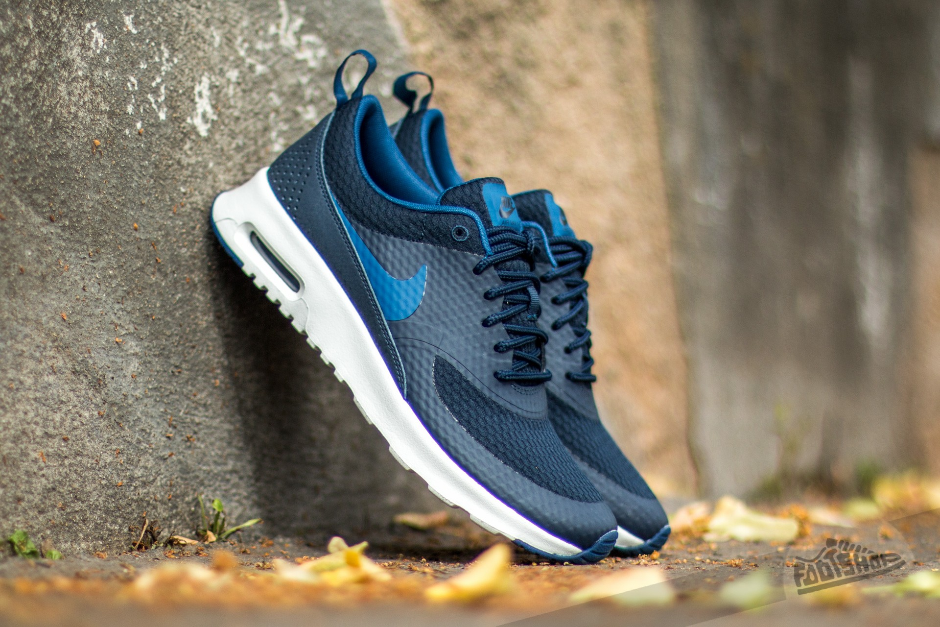 size 40 790f1 43f3a Nike W Air Max Thea TXT Obsidian  Coastal Blue-Summit White