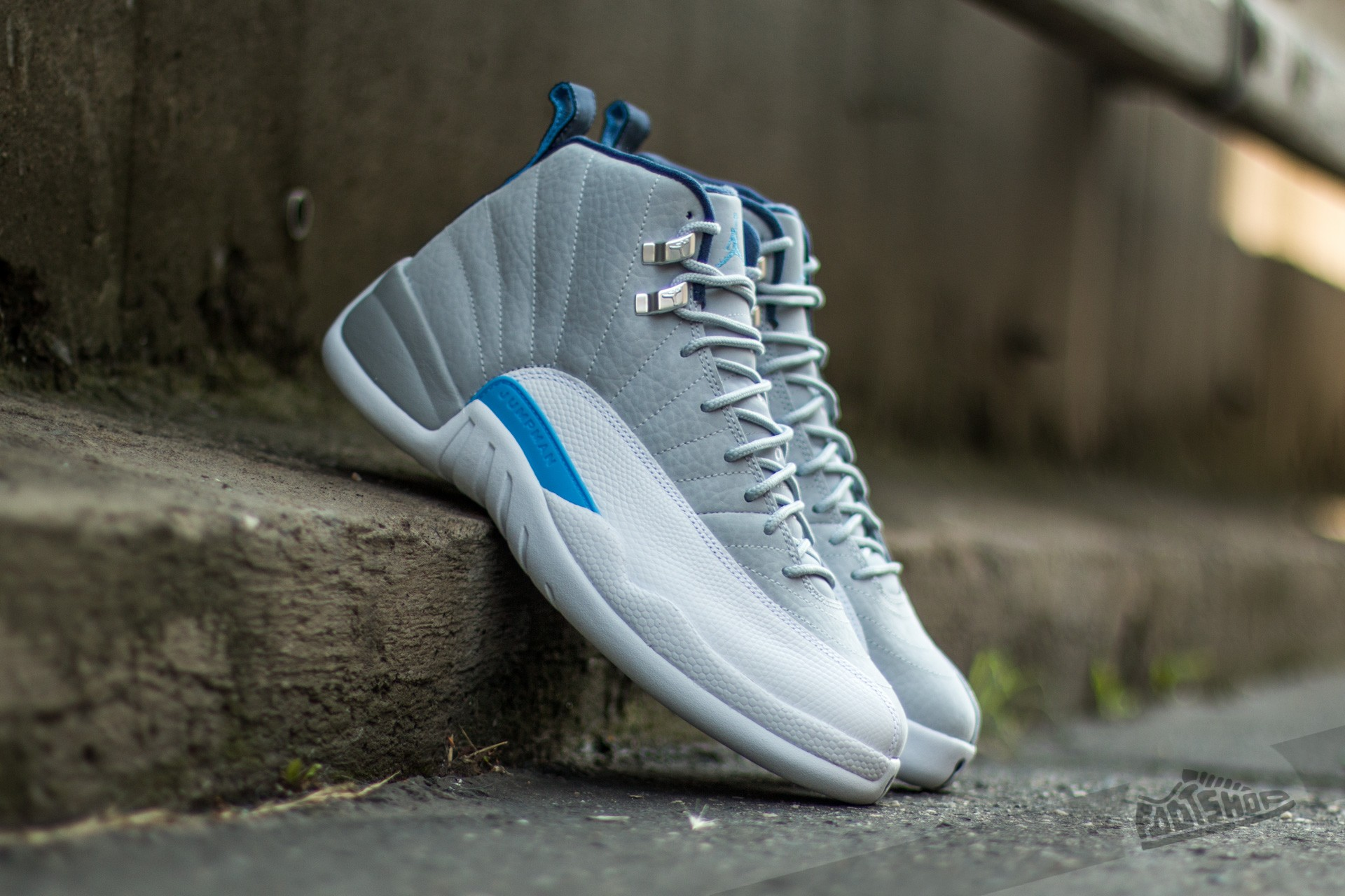 wholesale dealer c0142 03093 Air Jordan 12 Retro. Wolf Grey  University Blue-White-Midnight