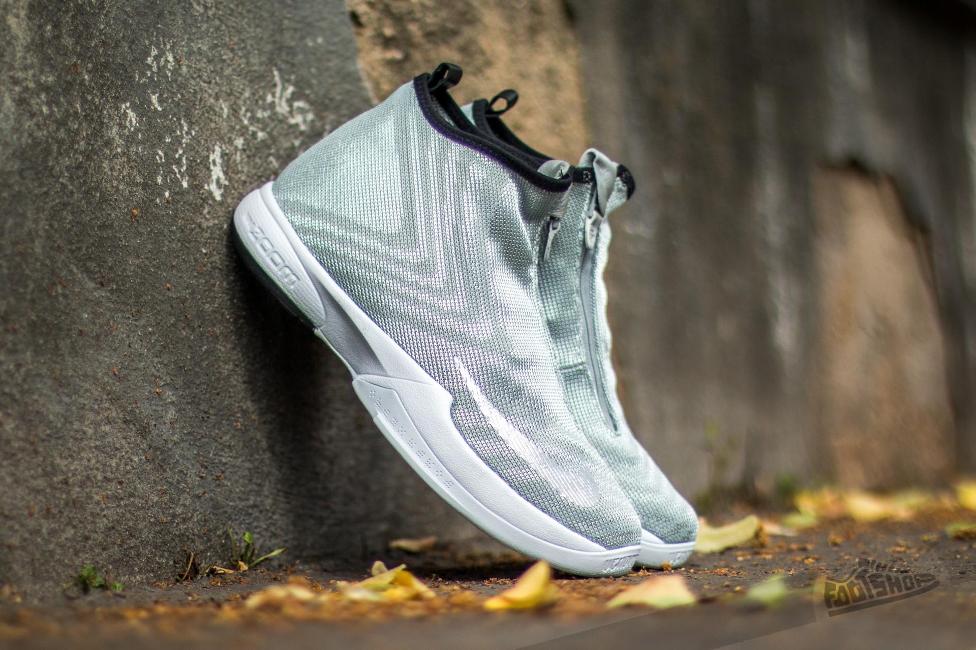 free shipping 769bd b2a77 Nike Zoom Kobe Icon Jacquard Premium Metallic Silver  Metallic  Silver-White-Black
