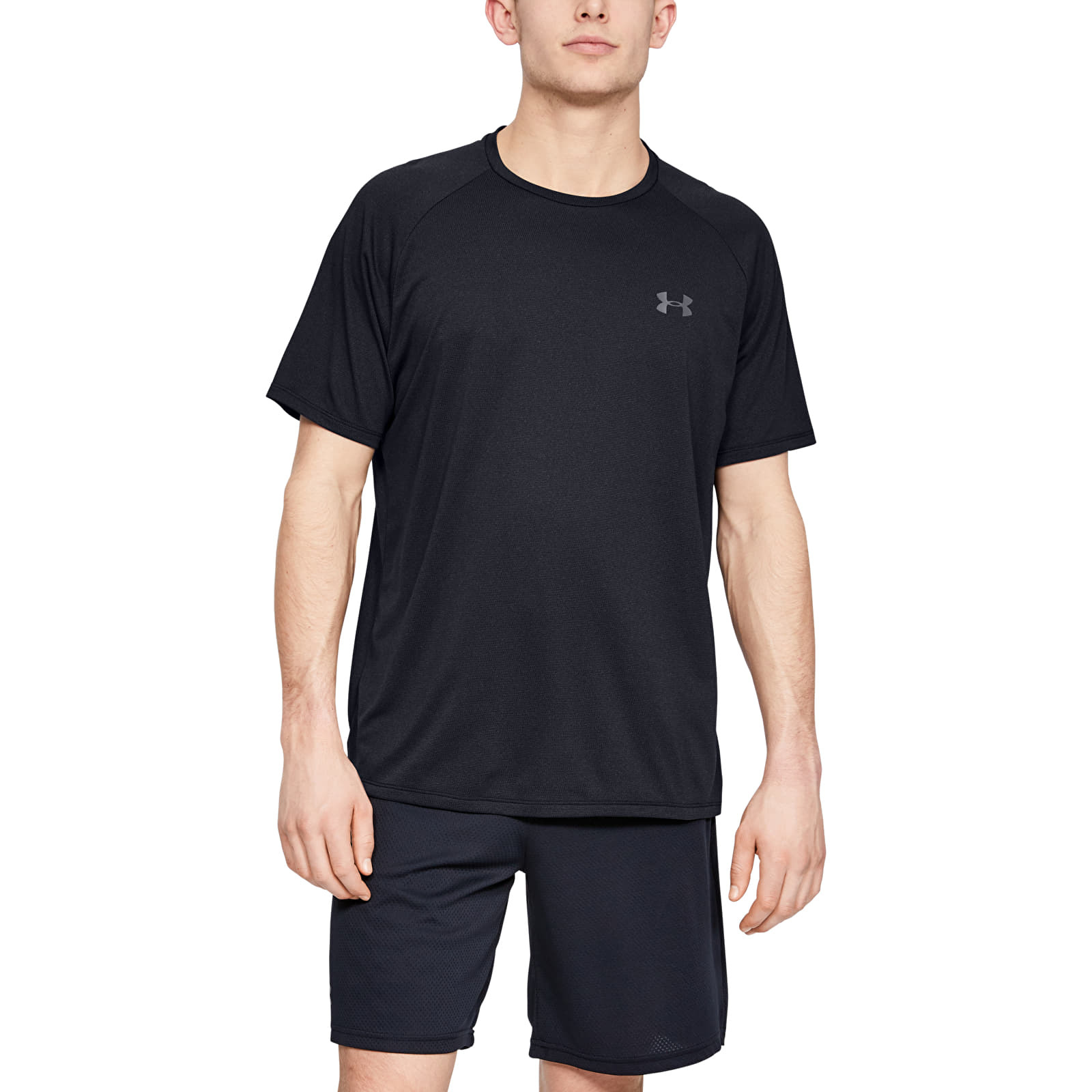 Under Armour Tech 2.0 SS Tee Novelty Black/ Pitch Gray S