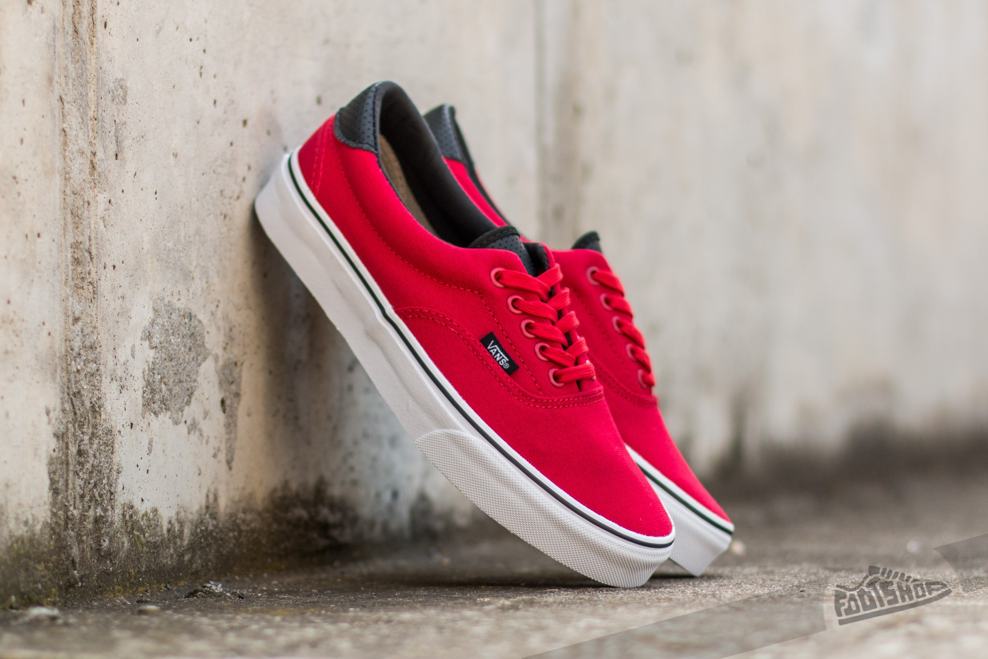796947eb813a96 Vans Era 59 (C P) Racing Red  Black