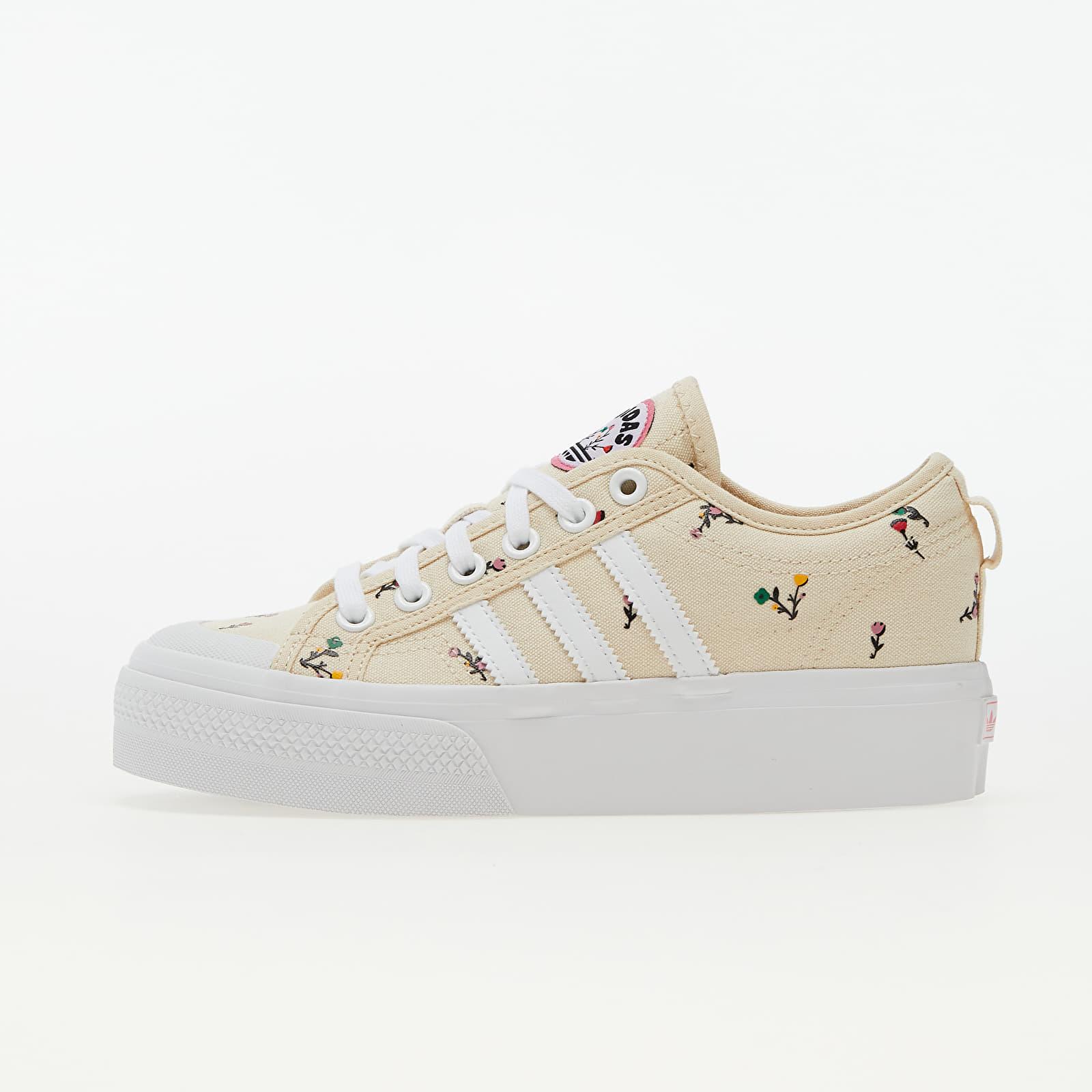 adidas Nizza Platform W Supplier Colour/ Ftw White/ Rose Tone EUR 41 1/3