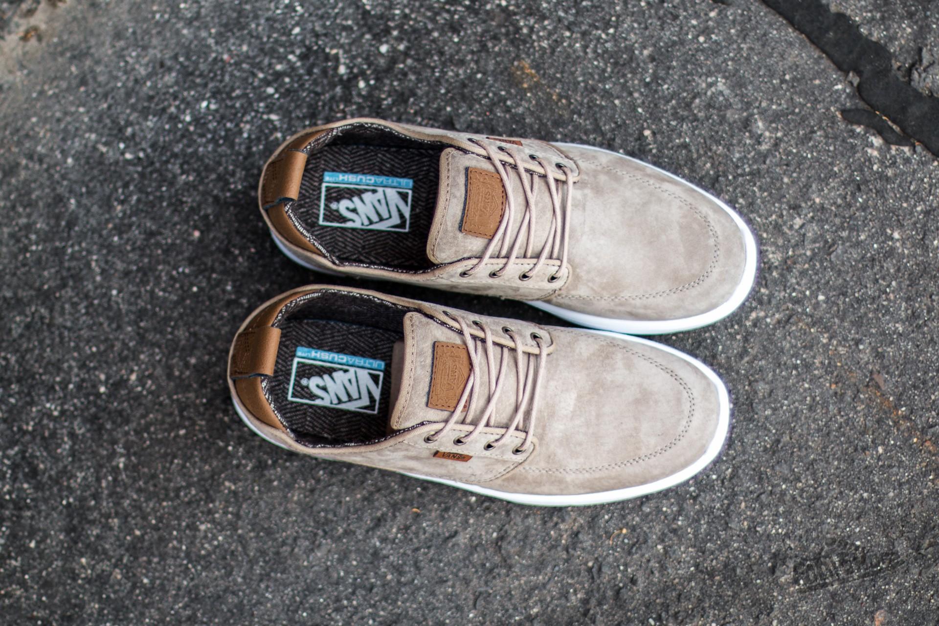 Vans Brigata Lite (S&L) Silver Mink White | Footshop