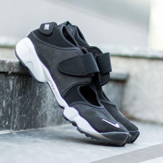 Nike Air Rift Anniversary QS Black Metalic Silver White | Footshop