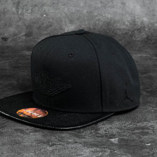 Jordan 2 Snapback Black  881a9dff838