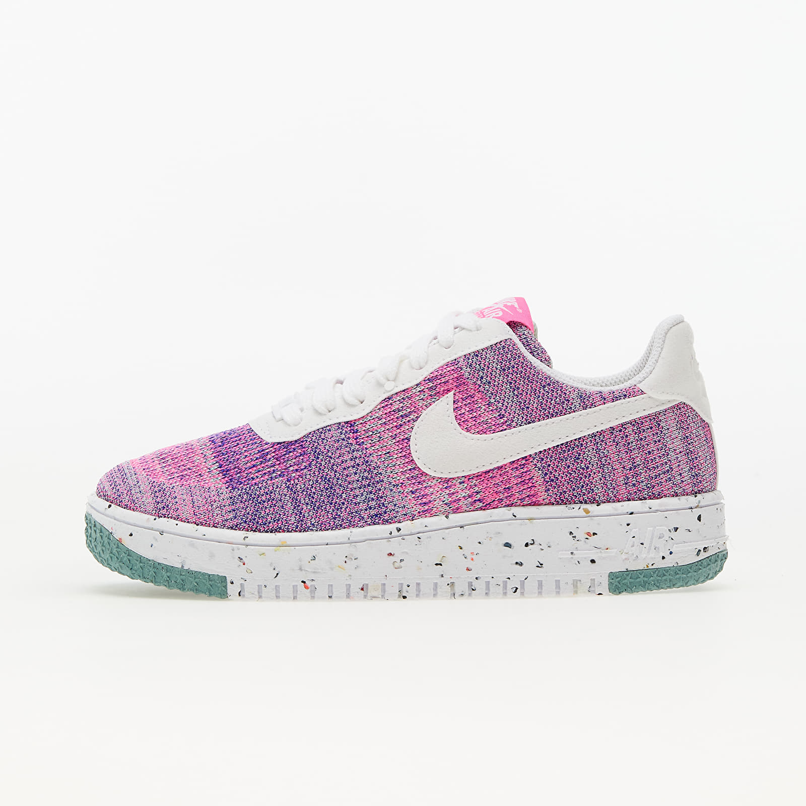 Nike Air Force 1 Crater Flyknit Fuschia Glow/ White - Pink Blast EUR 43