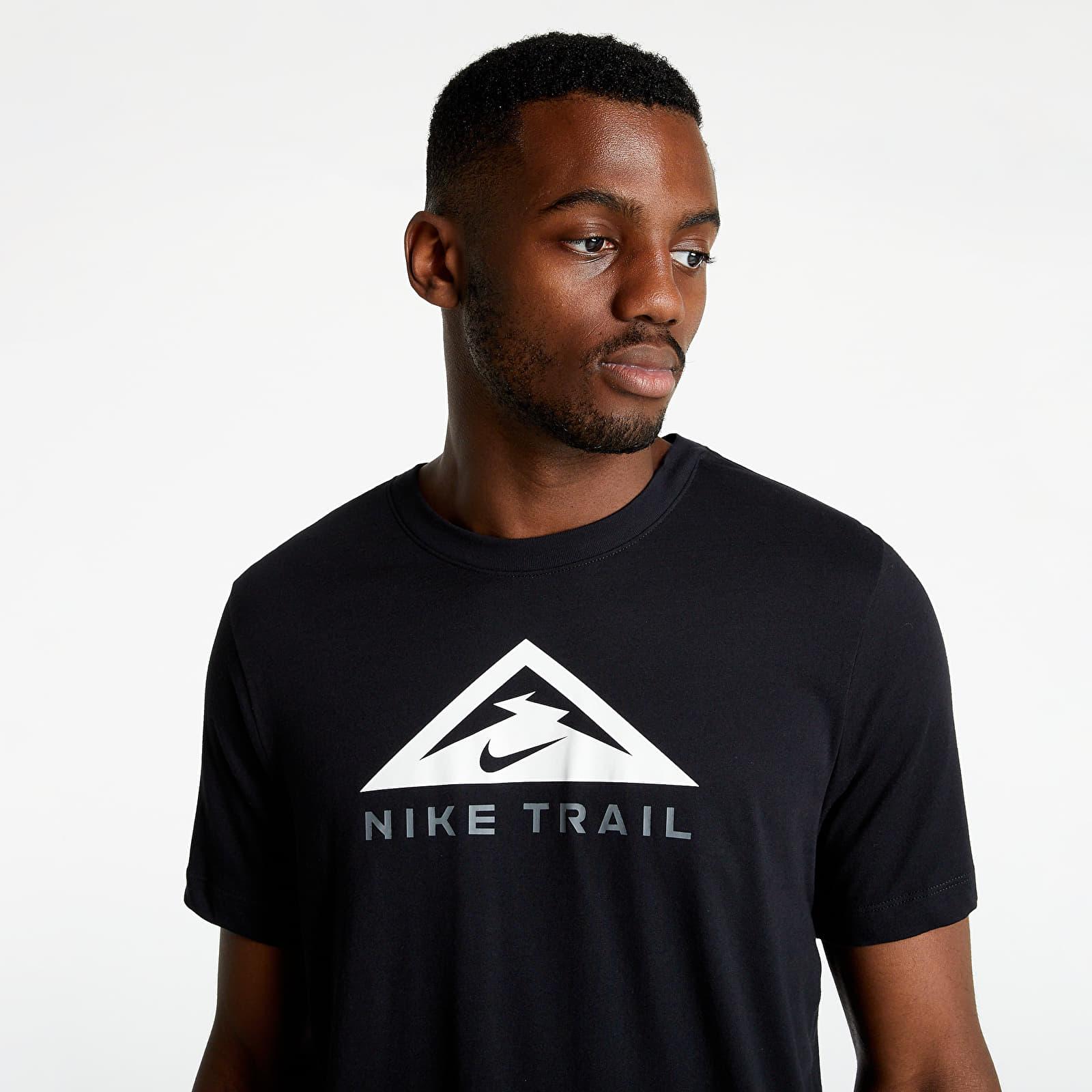 Nike Dri-Fit Short Sleeved Tee Trail Black S