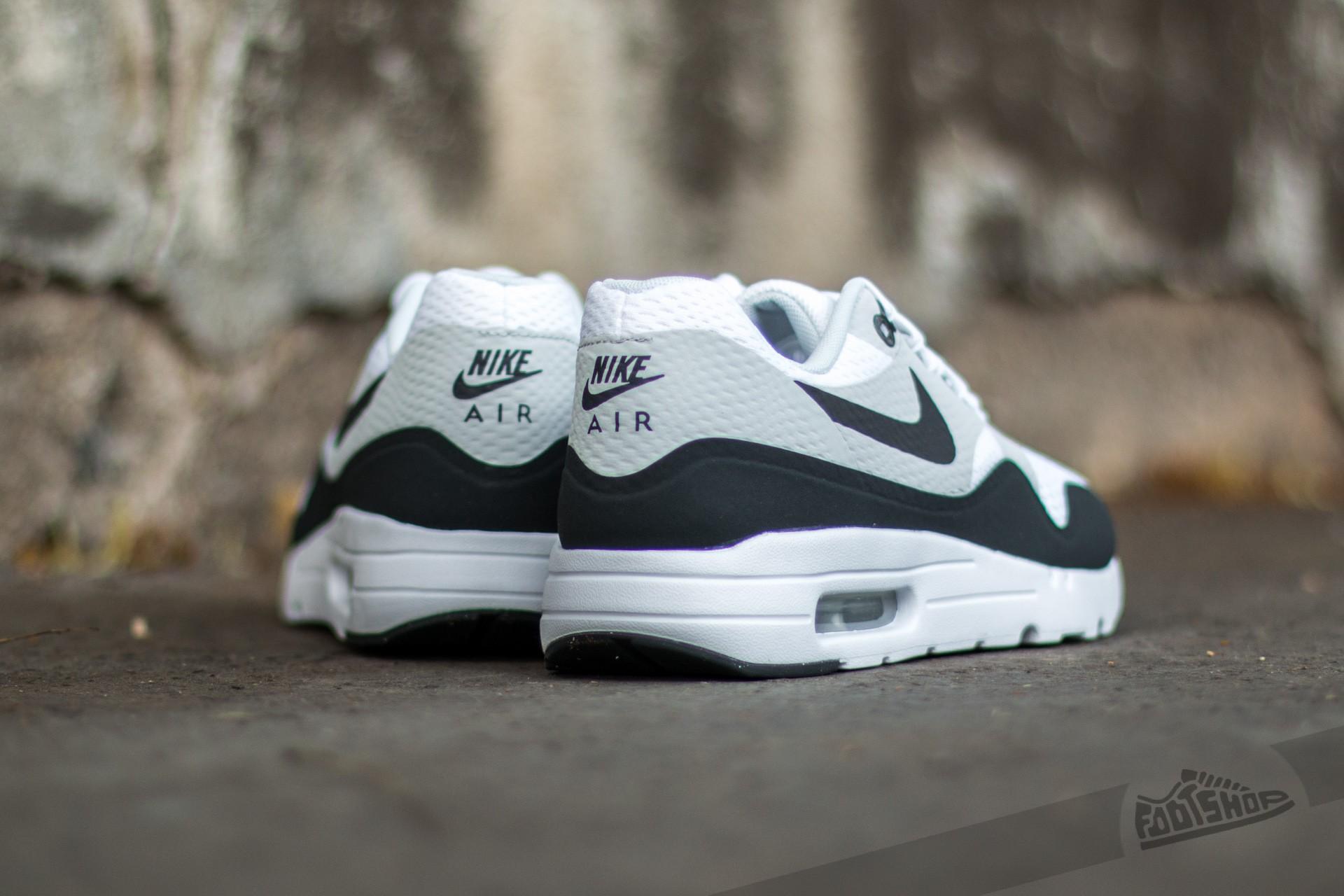 99417a3ba0 Nike Air Max 1 Ultra Essential White/ Anthracite-Pure Platinum ...