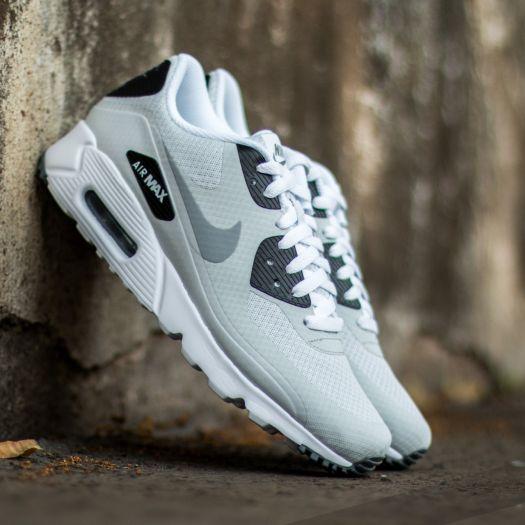 Nike Air Max 90 Ultra Essential Pure Platinum Wolf Grey Cool Grey Black | Footshop