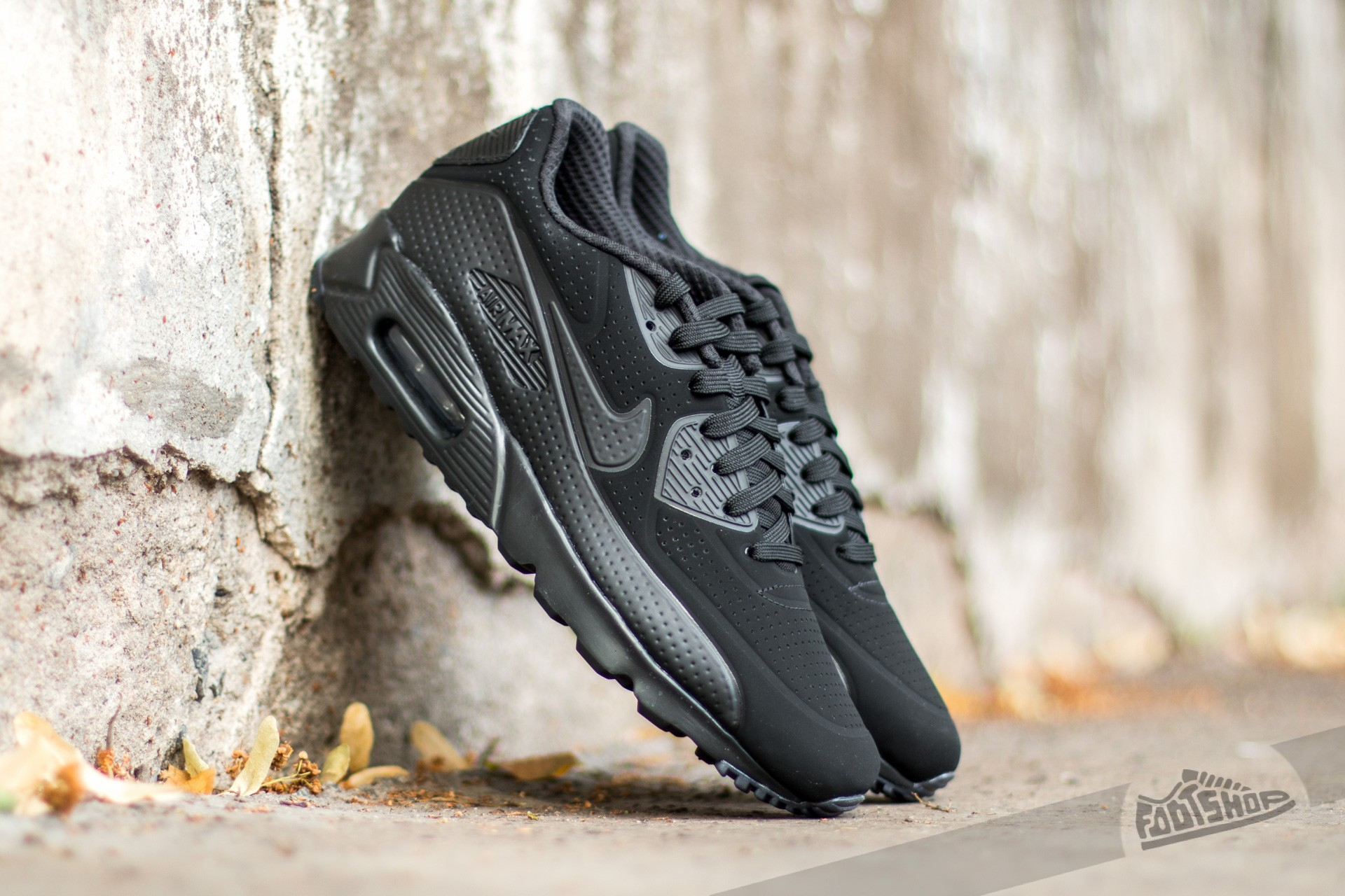 outlet store 628bf 5b779 Nike Air Max 90 Ultra Moire Black/ Black-White | Footshop