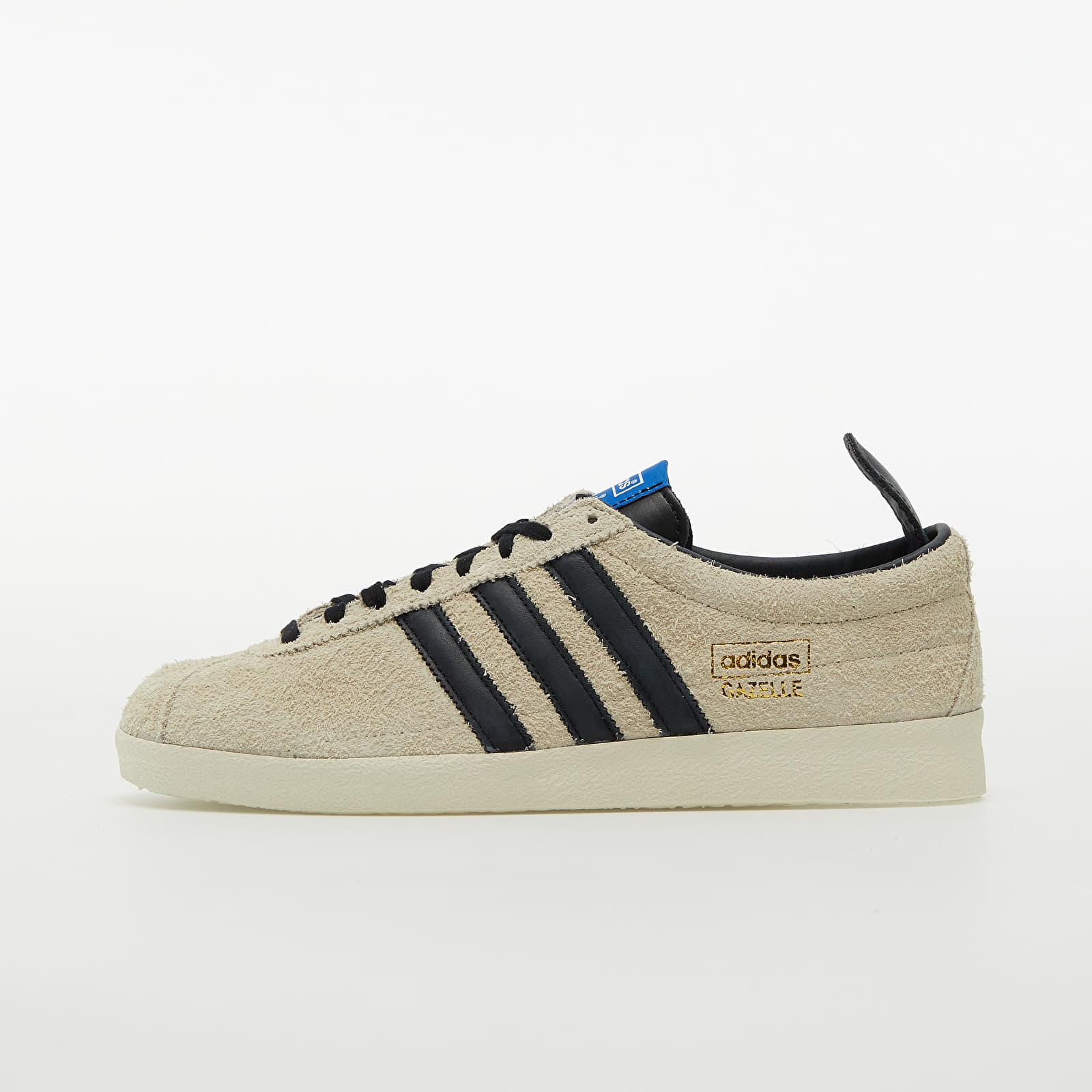 adidas Gazelle Vintage Core White/ Core Black/ Blue EUR 44 2/3