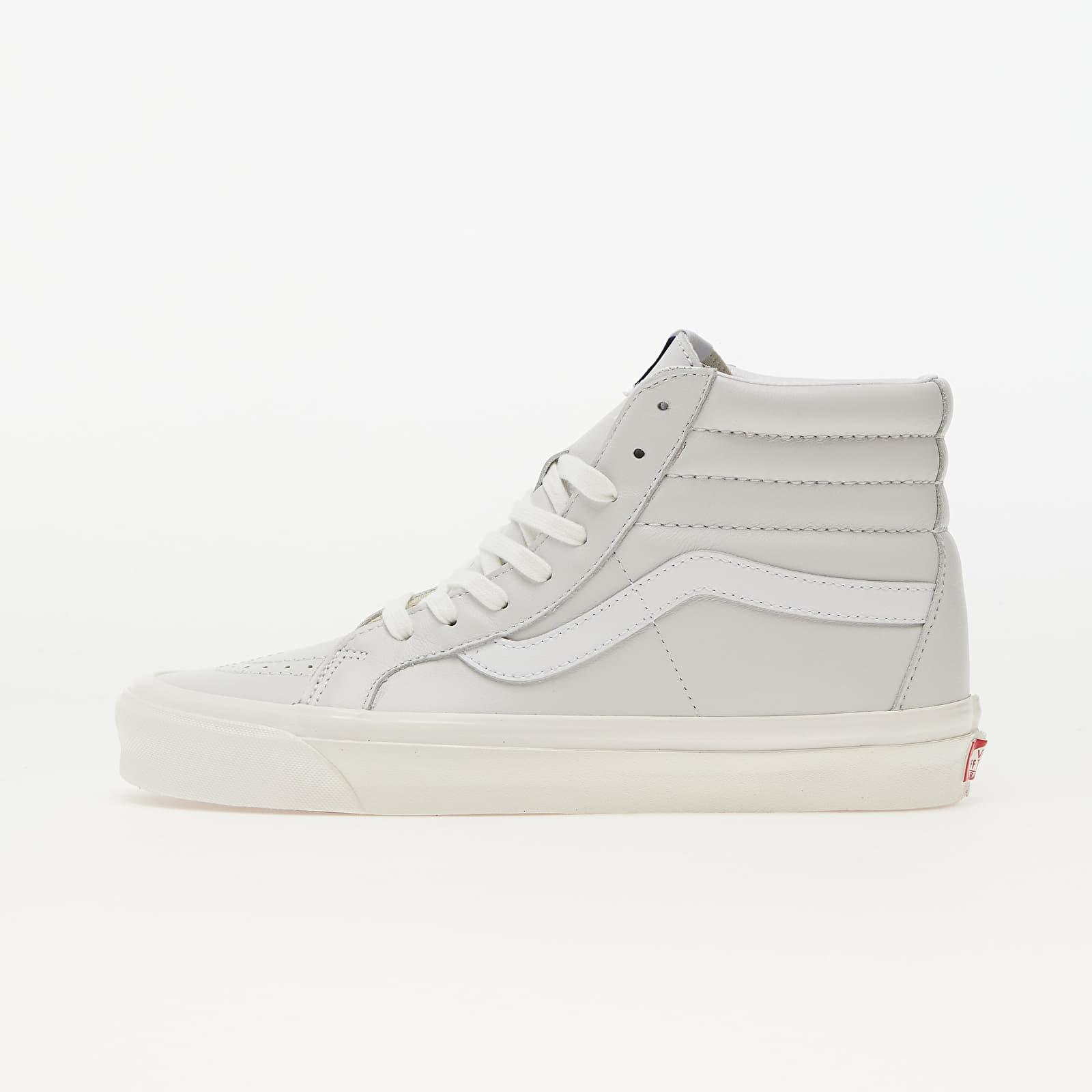 Vans Sk8-Hi 38 DX (Anaheim Factory) True White Leather EUR 43