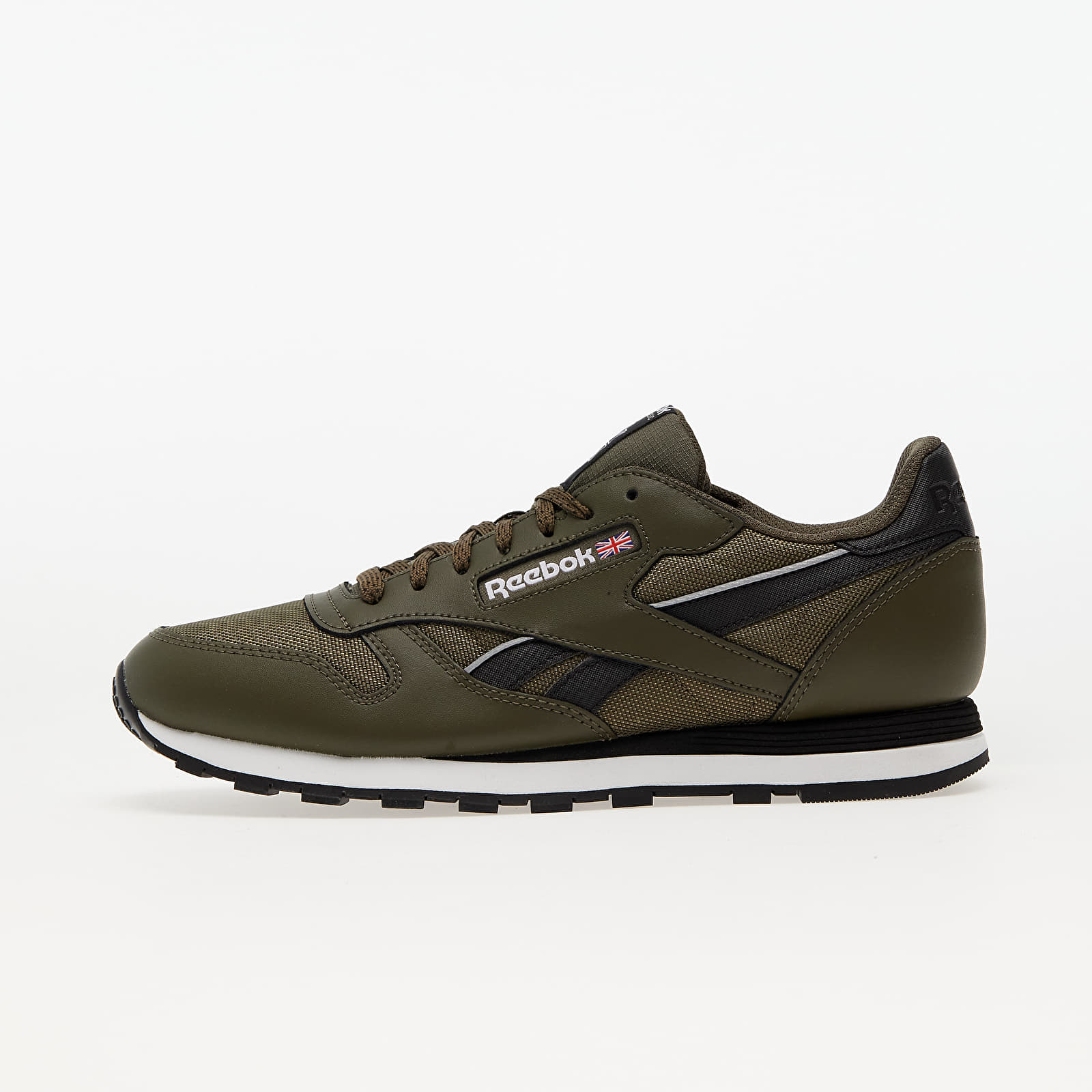 Reebok Classic Leather Army Green/ Core Black/ Ftw White EUR 44