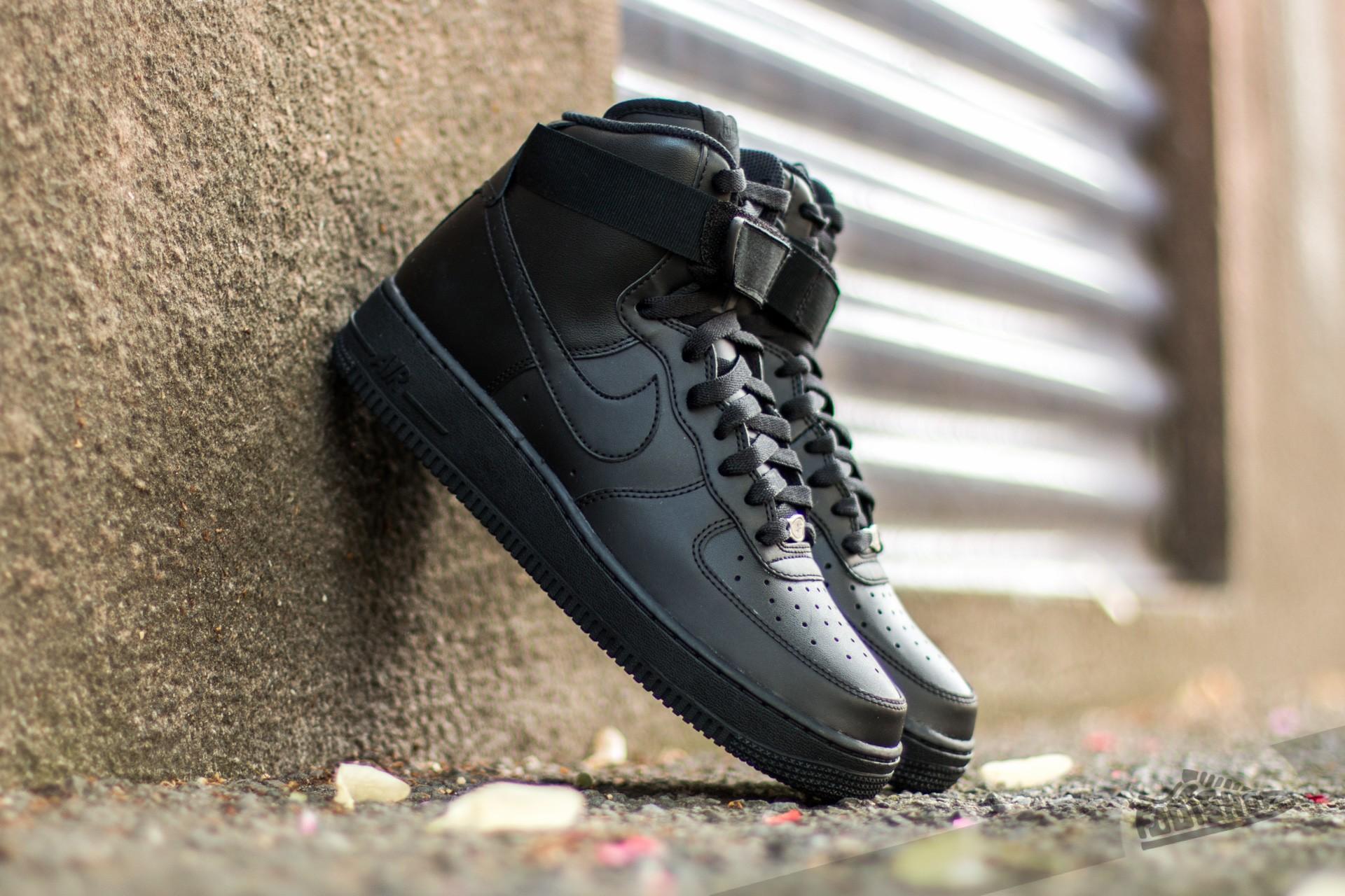 new arrival fd704 c5f37 Nike Air Force 1 High ´07 Black  Black- Black