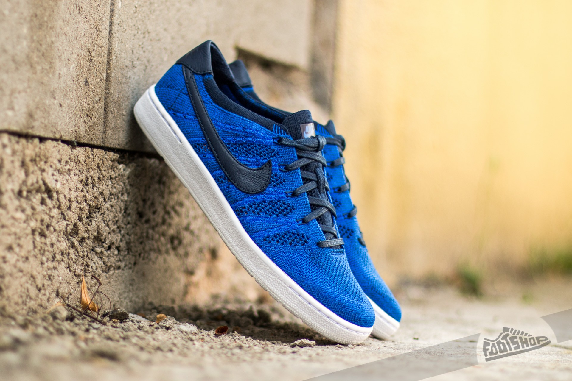 bc7fe69346ccf Nike Tennis Classic Ultra Flyknit College Navy  College Navy- Racer Blue-  White