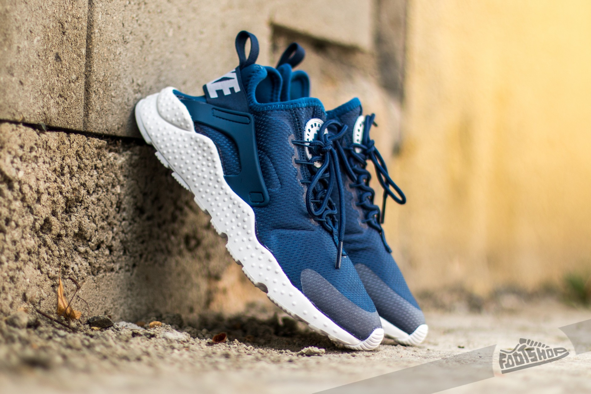 Nike W Air Huarache Run Ultra Coastal Blue/ White | Footshop
