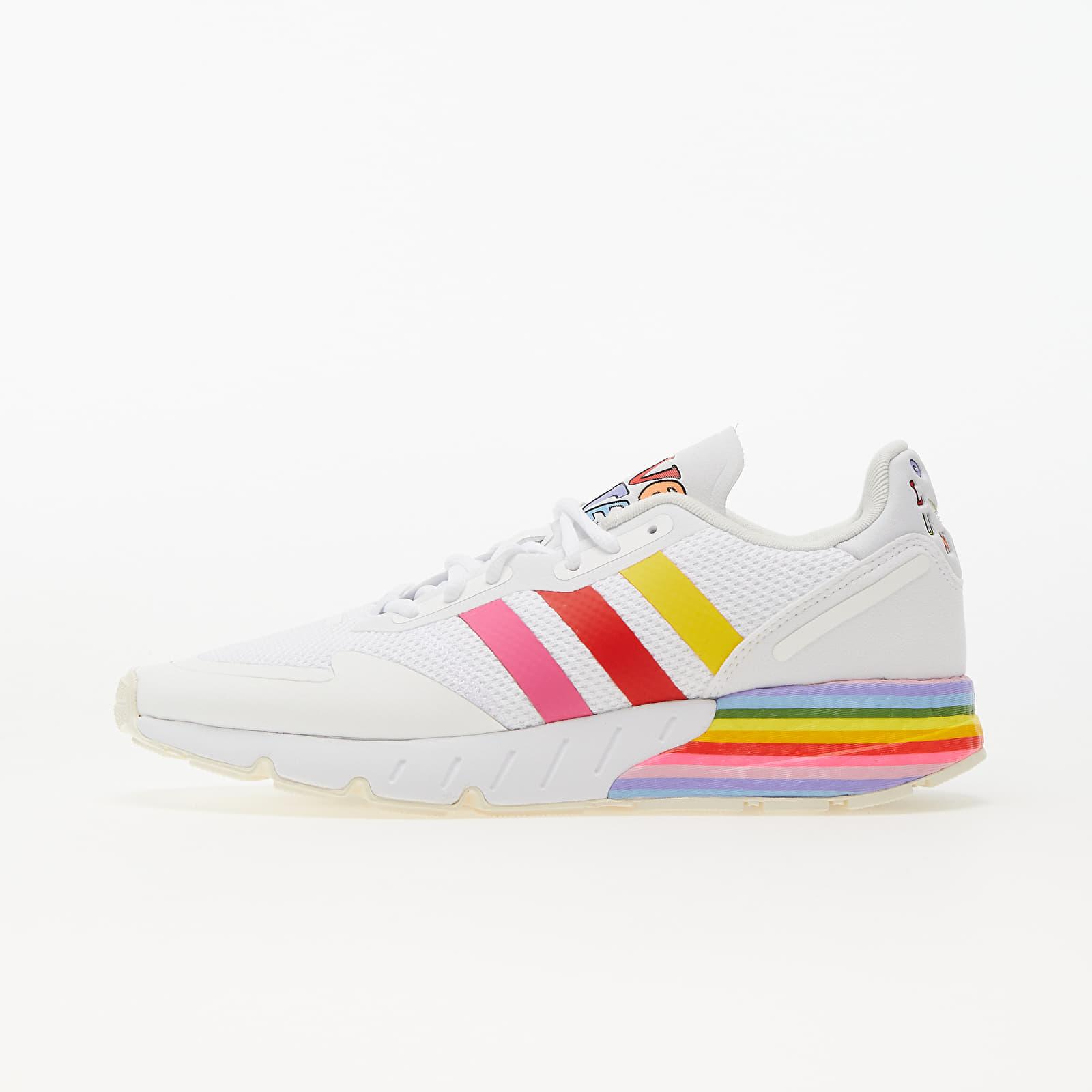 adidas ZX 1K Boost Pride Ftw White/ Ftw White/ Off White EUR 45 1/3