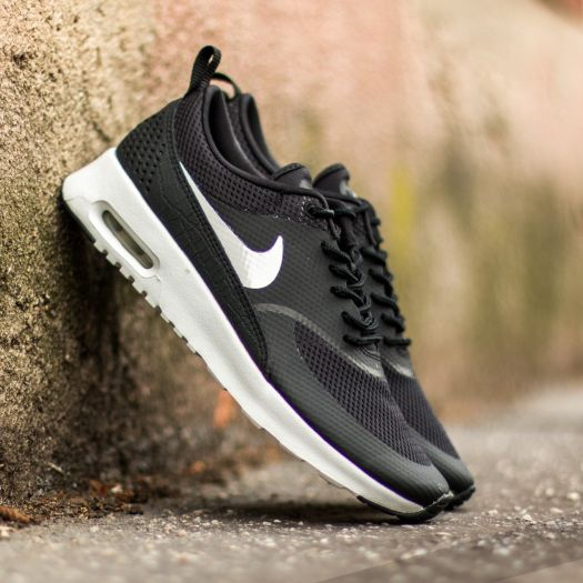 Nike Air Max Thea Trainers In Black And White Blacksummit
