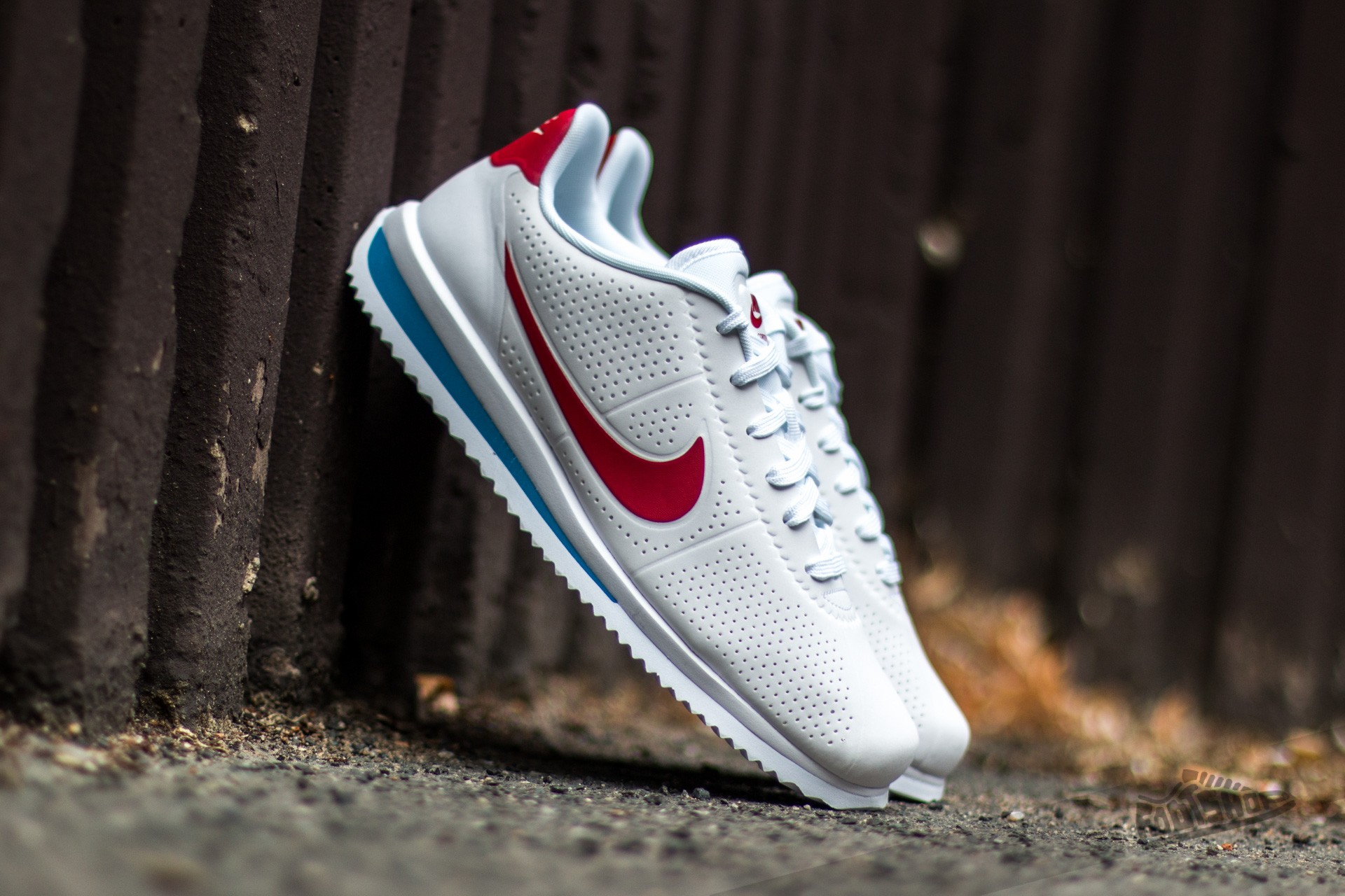 uk availability ded6e 9344e Nike Cortez Ultra Moire White/ Varsity Red-Varsity Blue ...
