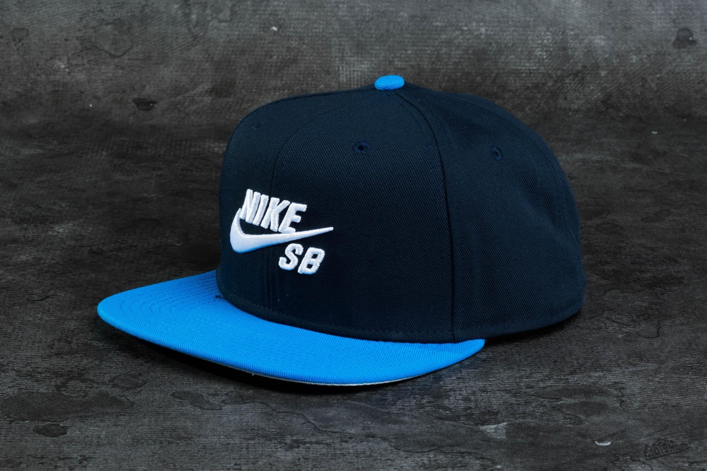 74e6cc5b8 Nike SB Icon Pro Snapback Navy | Footshop