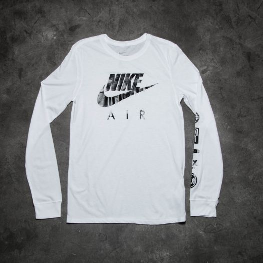new arrival coupon codes new photos Nike Air Longsleeve Tee White | Footshop