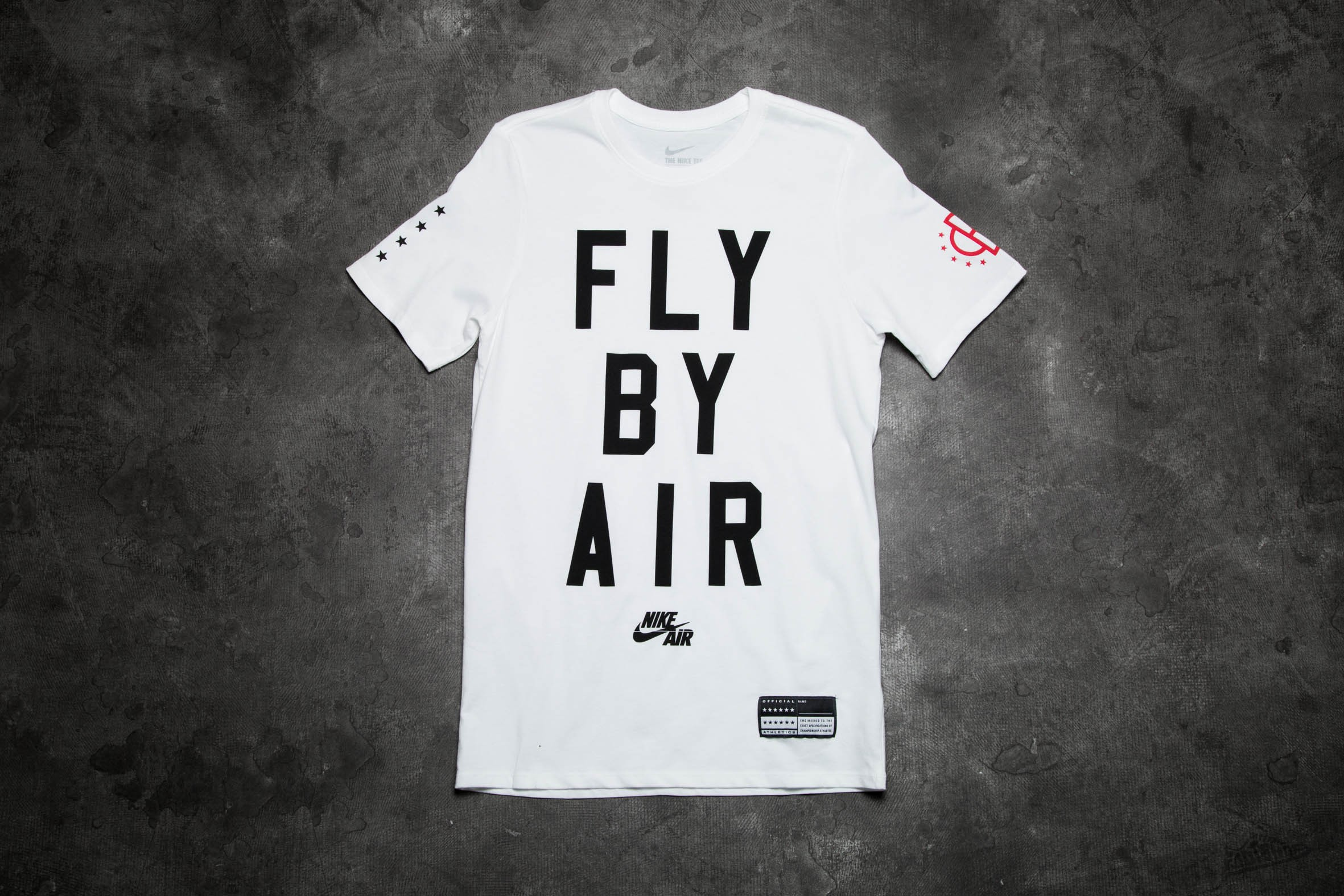 293a081daf Nike Air Fly By Tee White