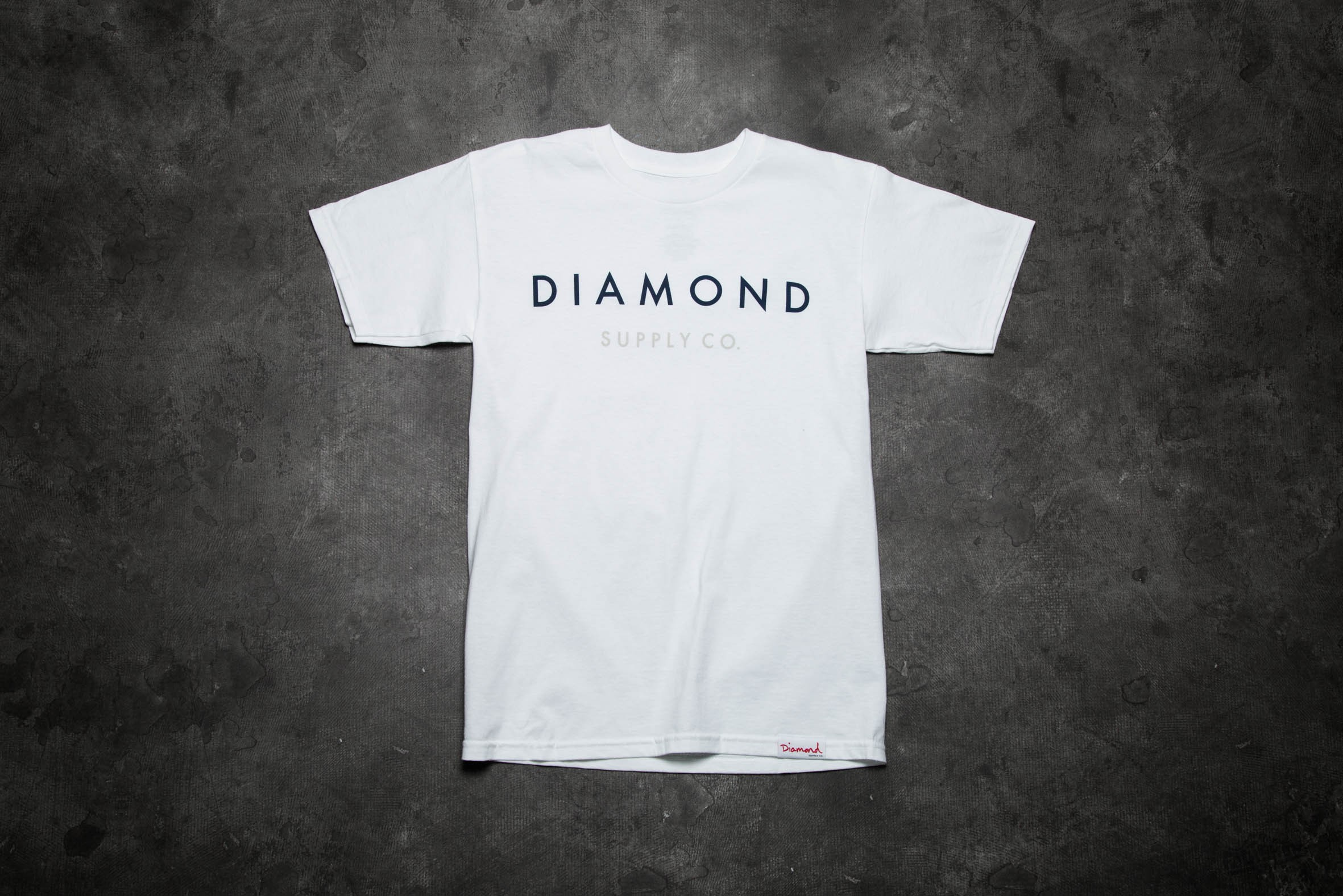 competitive price e8c75 9f5d4 Diamond Supply Co. Yacht Type Tee White