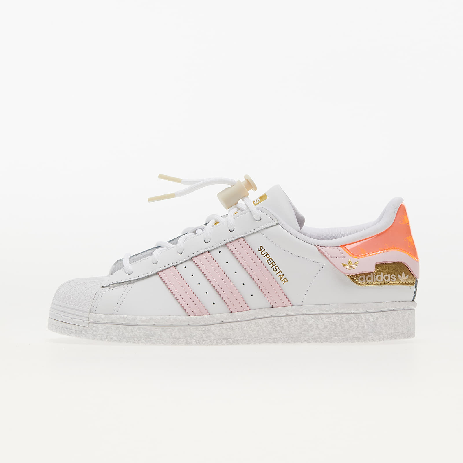 adidas Superstar W Ftw White/ Clear Pink/ Solar Red EUR 41 1/3