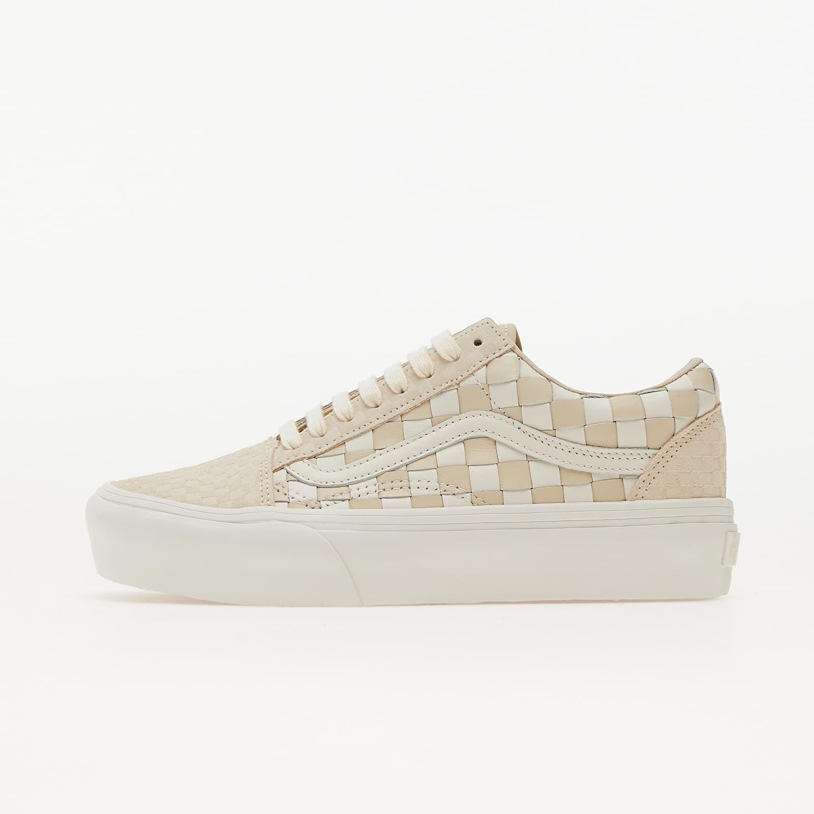 Vans Old Skool Platform (Wowen Leather) White/ Cream EUR 39