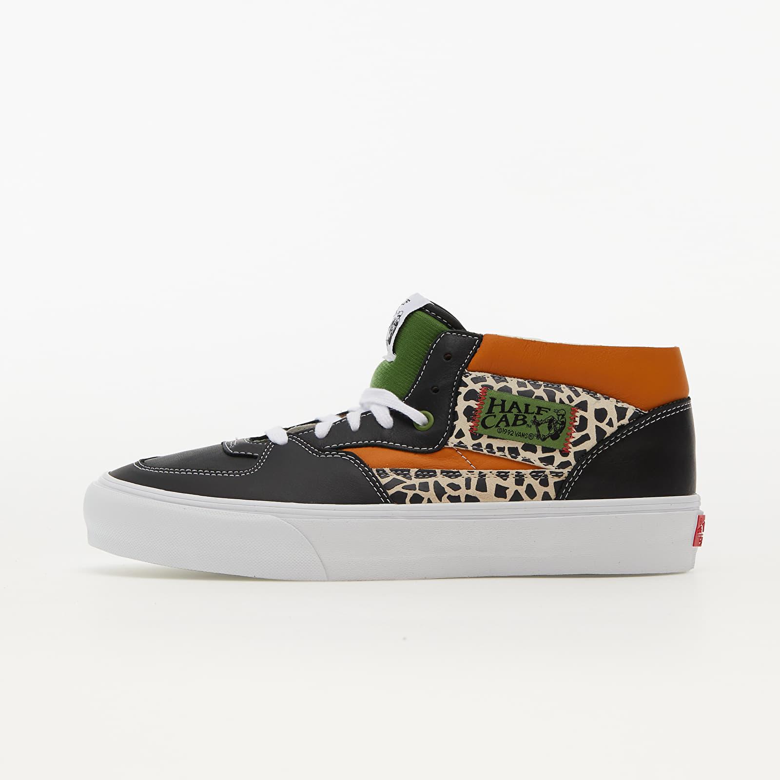 Vans Vault Half Cab EF LX (Leather/ Suede) Cactus/ Black   Footshop