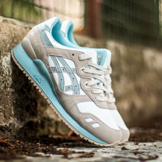 sale retailer e3a43 e1d23 Asics Gel Lyte III White/ Light Grey | Footshop