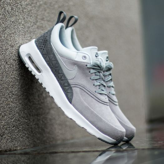 Nike W Air Max Thea Premium Leather Matte Silver Matte