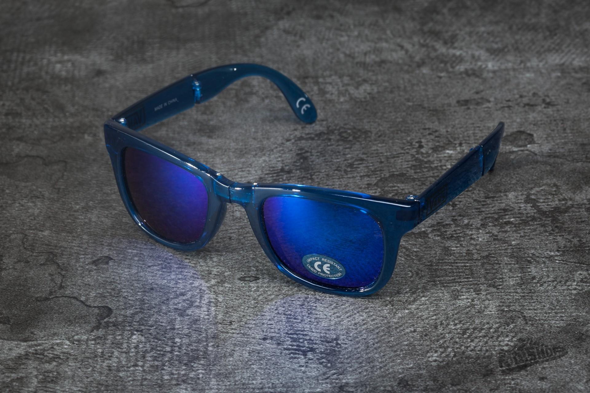 ca0a9f8fb7 Vans Foldable Spicoli Sunglasses Transparent Cla