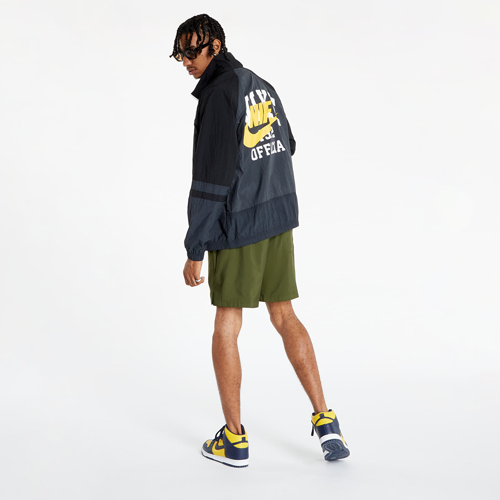 Nike Sportswear M Unlined Jacket Anthracite/ Black/ Off Noir/ White S