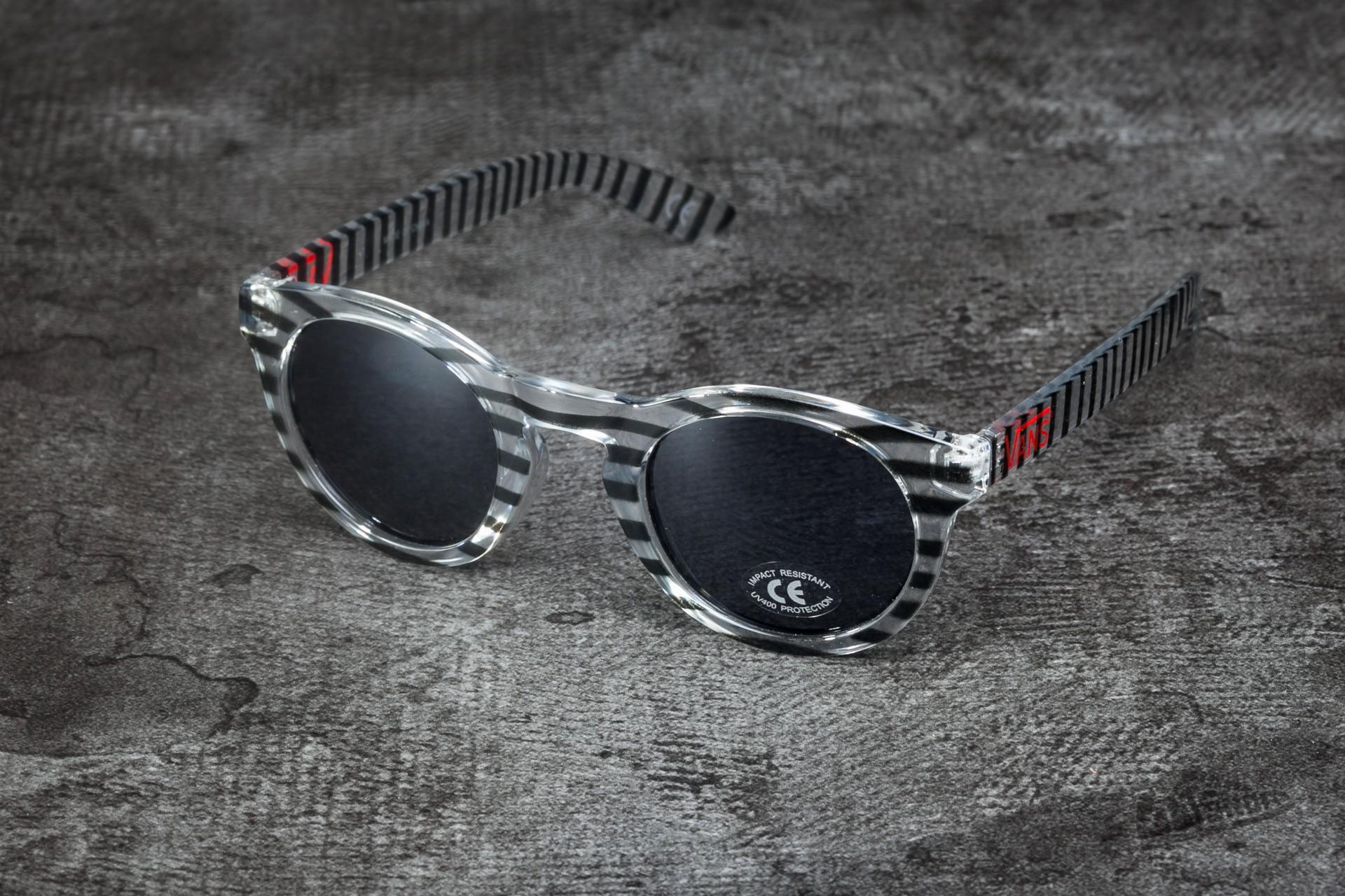 227b297dc3 Vans Lolligagger Sunglasses Black  Stripe
