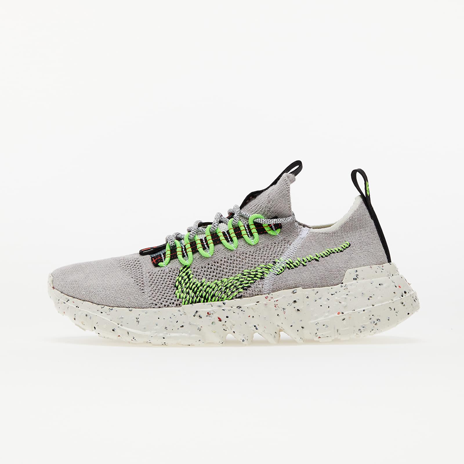 Nike Space Hippie 01 Vast Grey/ Electric Green-Black-White