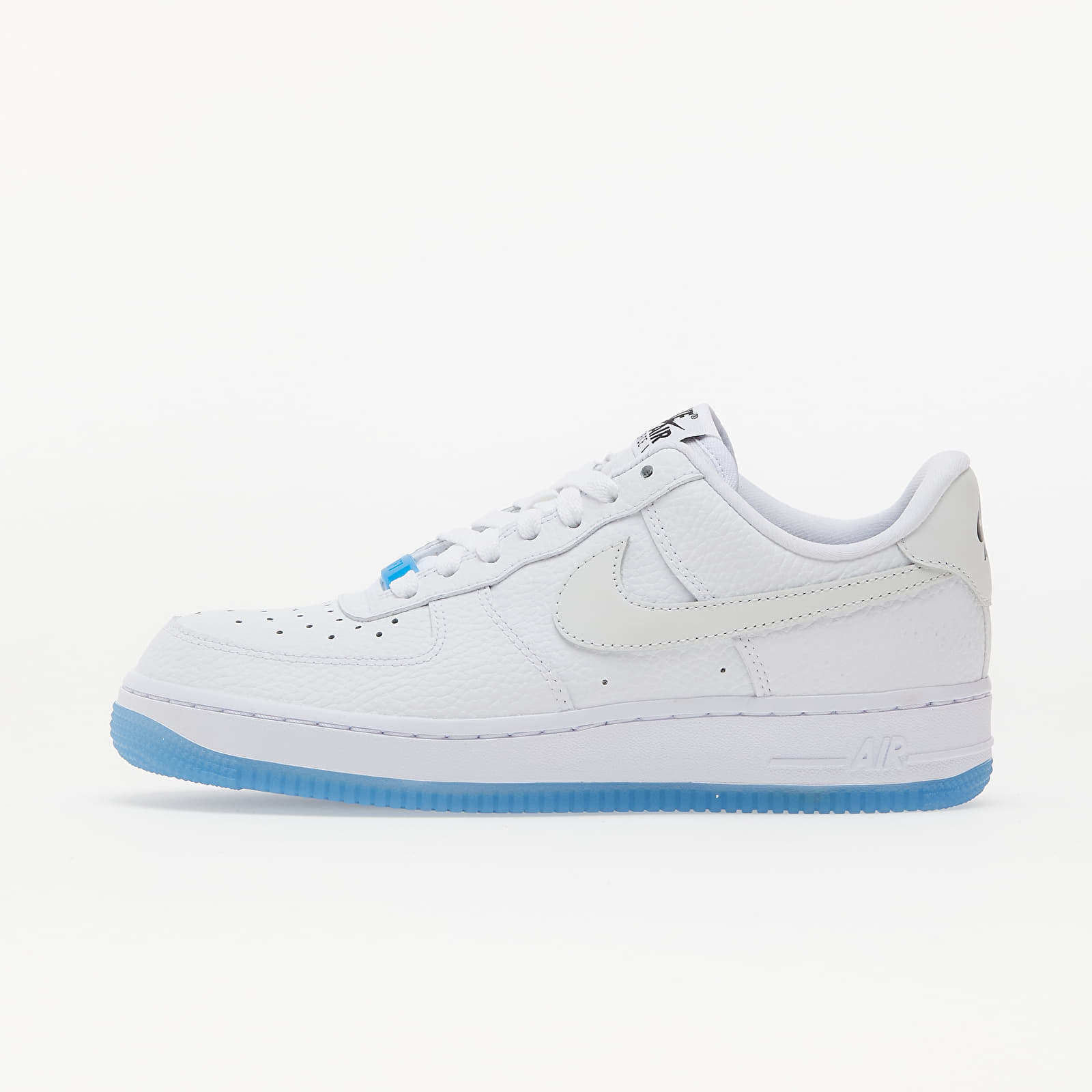 Nike W Air Force 1 '07 LX (UV Reactive) White/ White-White-University Blue EUR 37.5