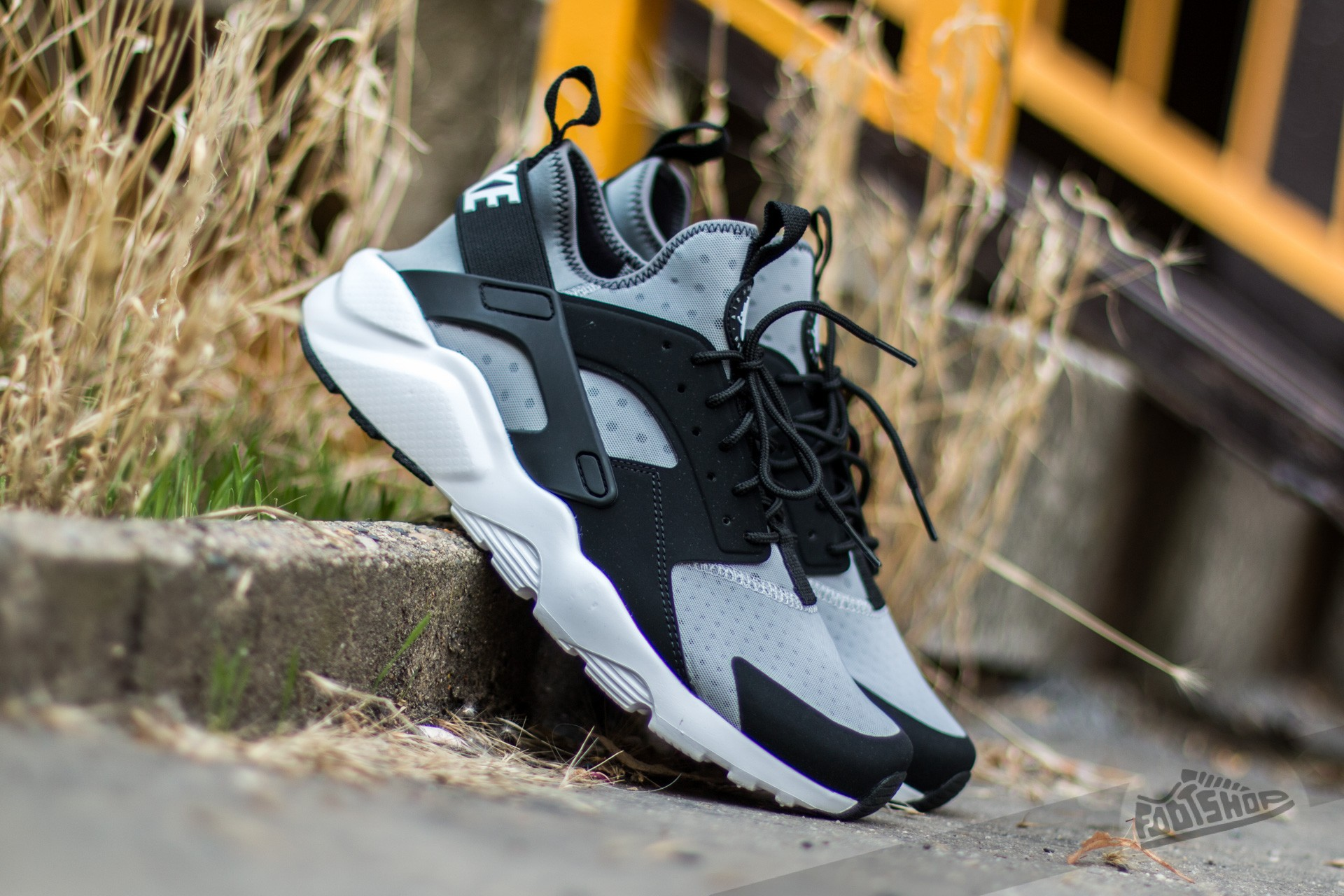 2f3eff70bee6b Nike Air Huarache Run Ultra Wolf Grey  White-Black-Cool Grey ...