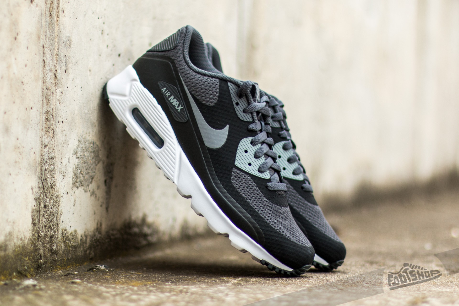 premium selection cd8c2 2330e Nike Air Max 90 Ultra Essential Black  Cool Grey-Anthracite-White