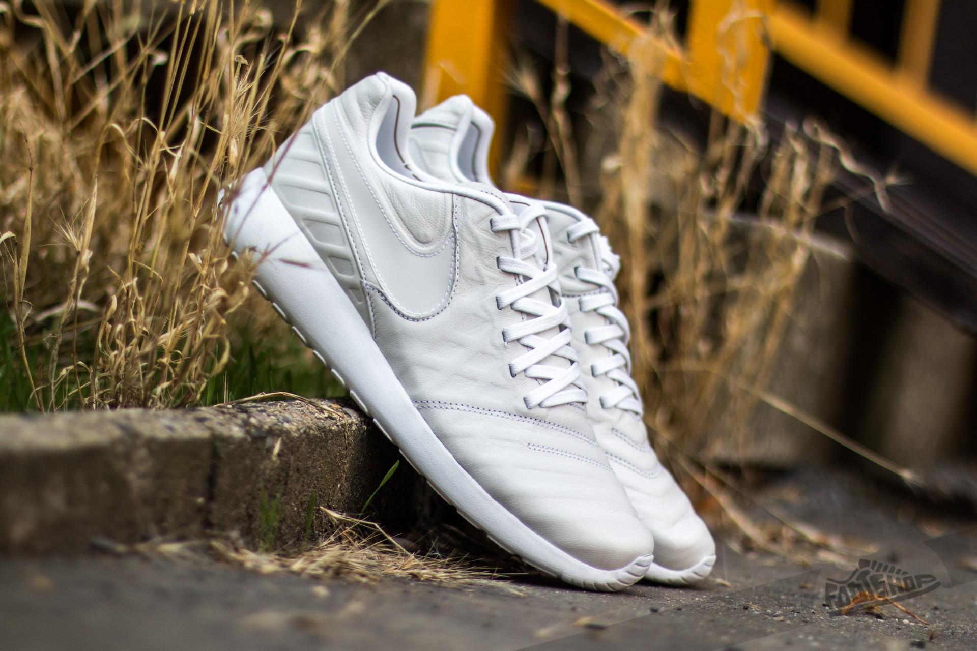 aaf3bb29792d Nike Roshe Tiempo VI QS White  White-Metallic Gold-Black