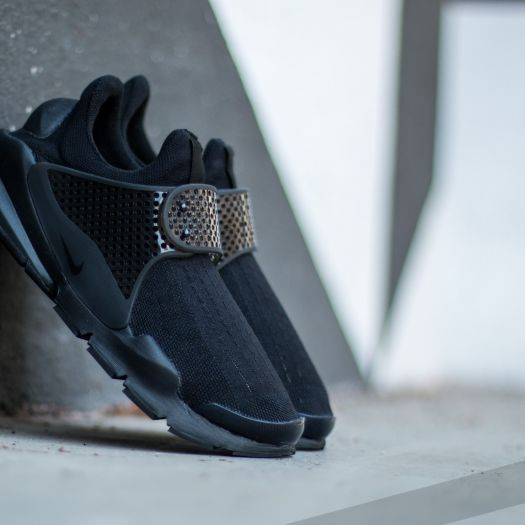 Nike Womens Sock Dart BlackBlack Volt