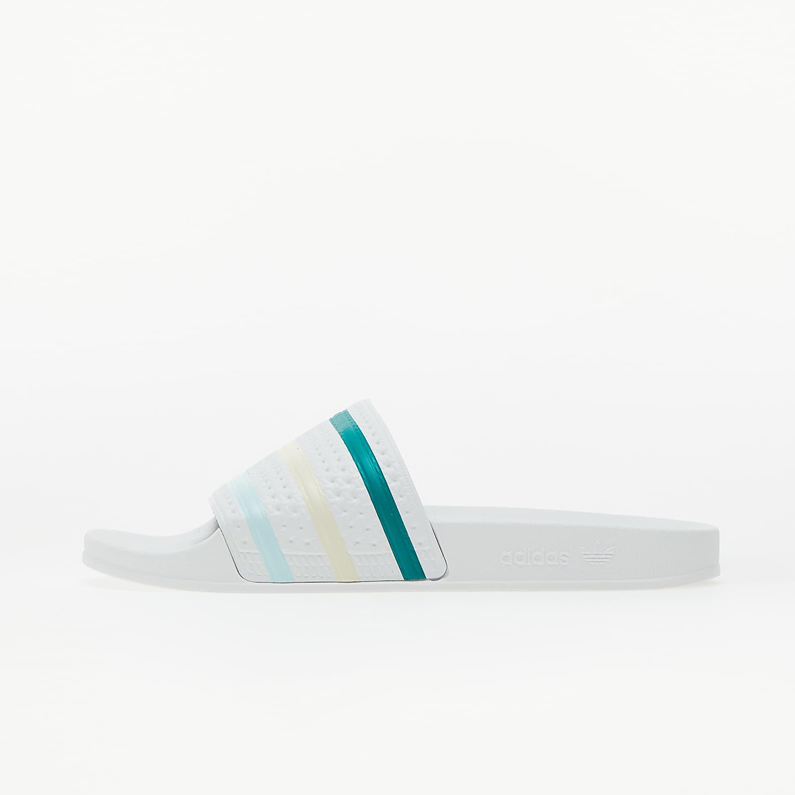 adidas Adilette Ftw White/ Halo Mint/ Worn White EUR 46