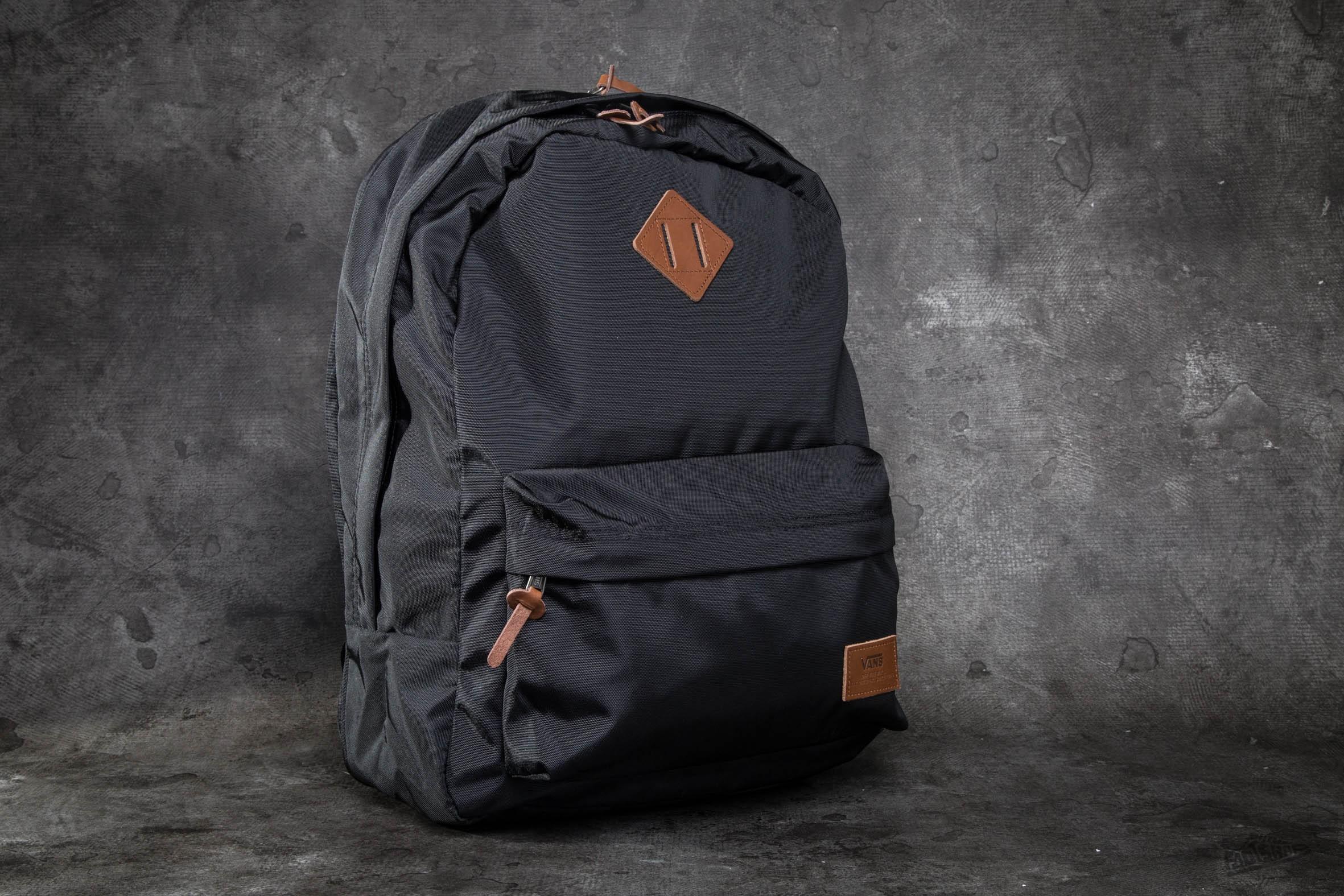 Vans Old Skool Plus Backpack True Black | Footshop