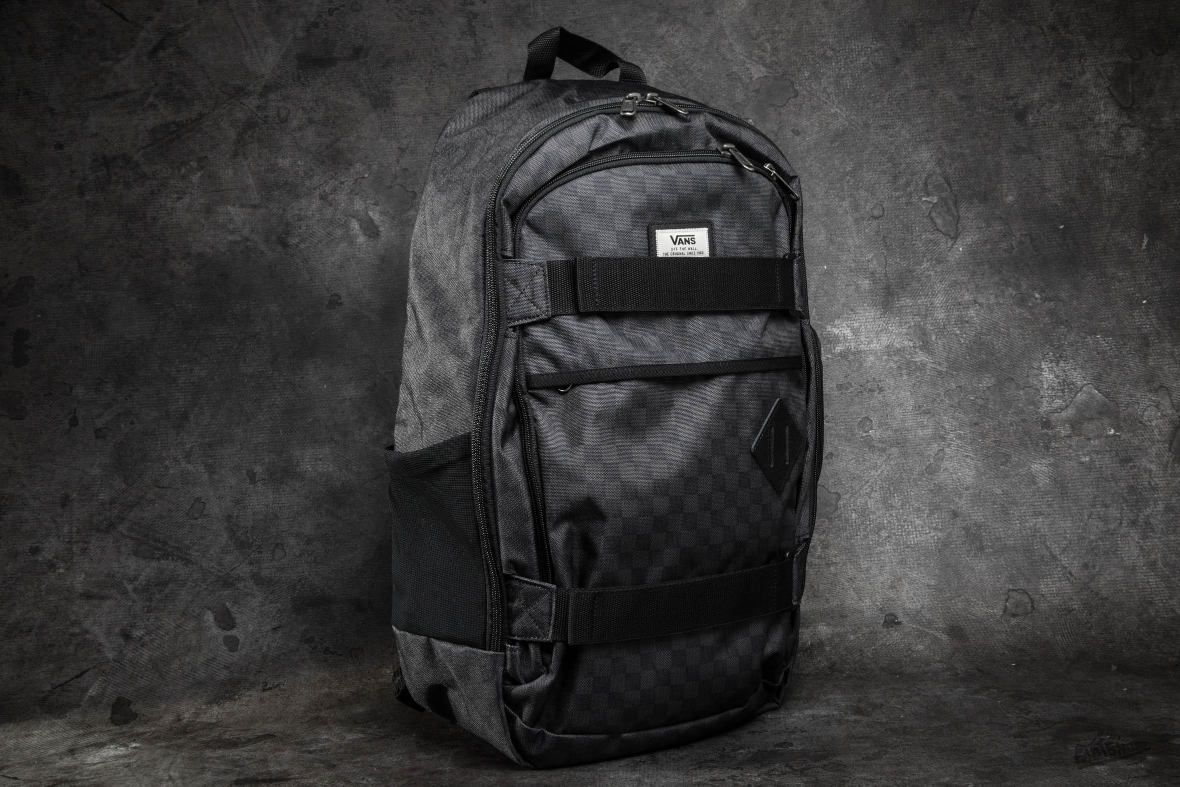 e12e7186bd vans m transient iii skate backpack black - www.cytal.it