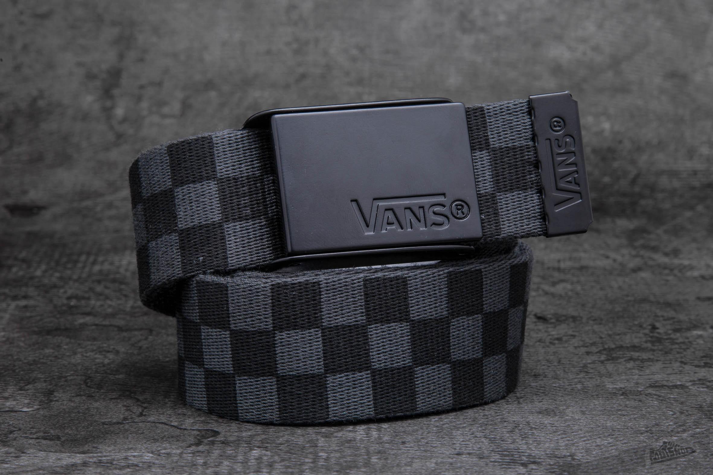 0c2af6d6c8 Vans Deppster Web Belt Black Charcoal