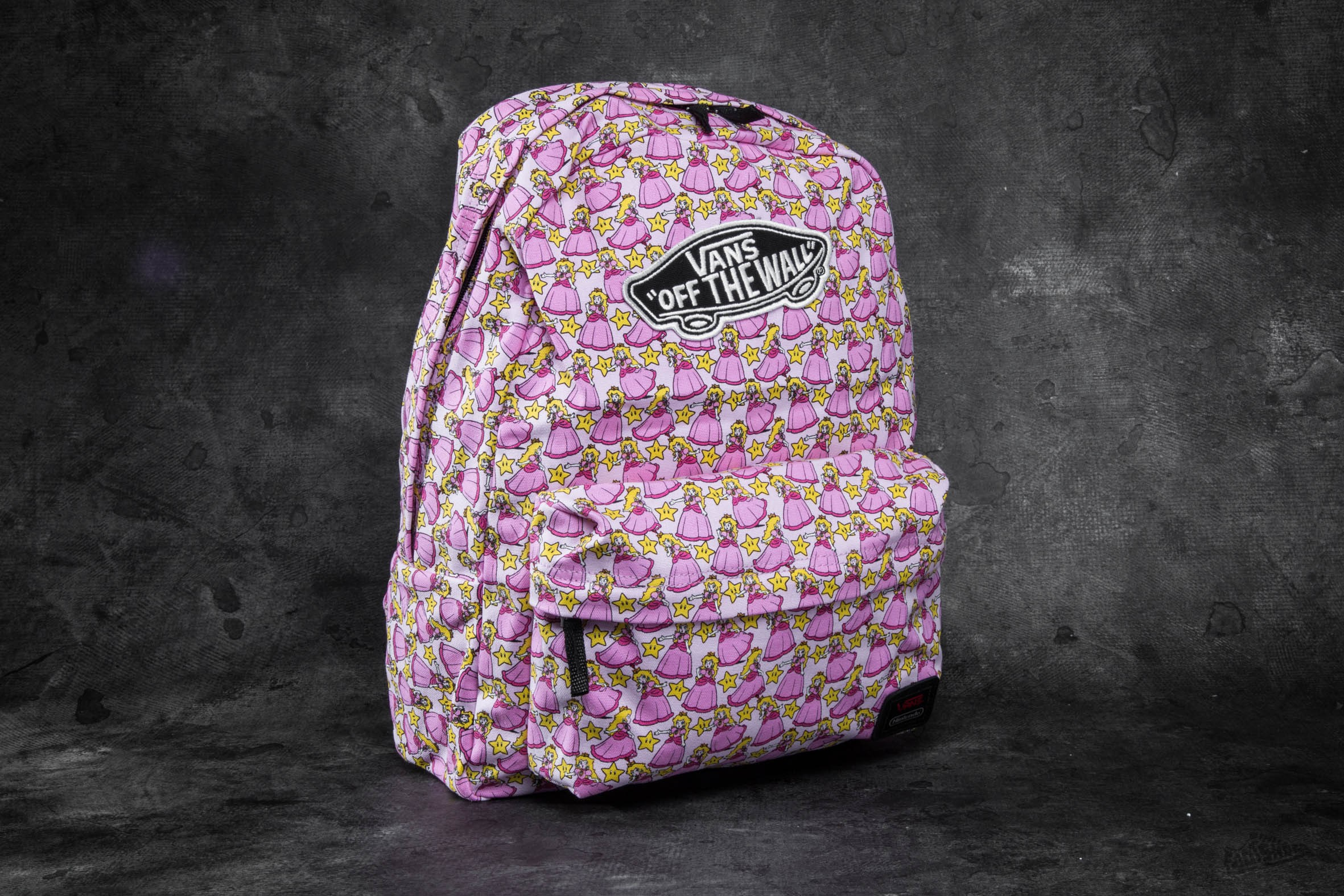 b07ebf7c65d Vans Nintendo Backpack Princess Peach Pink