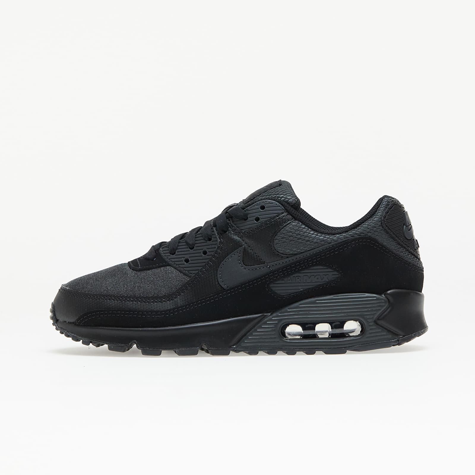 Nike Air Max 90 Black/ Dk Smoke Grey-Black EUR 41